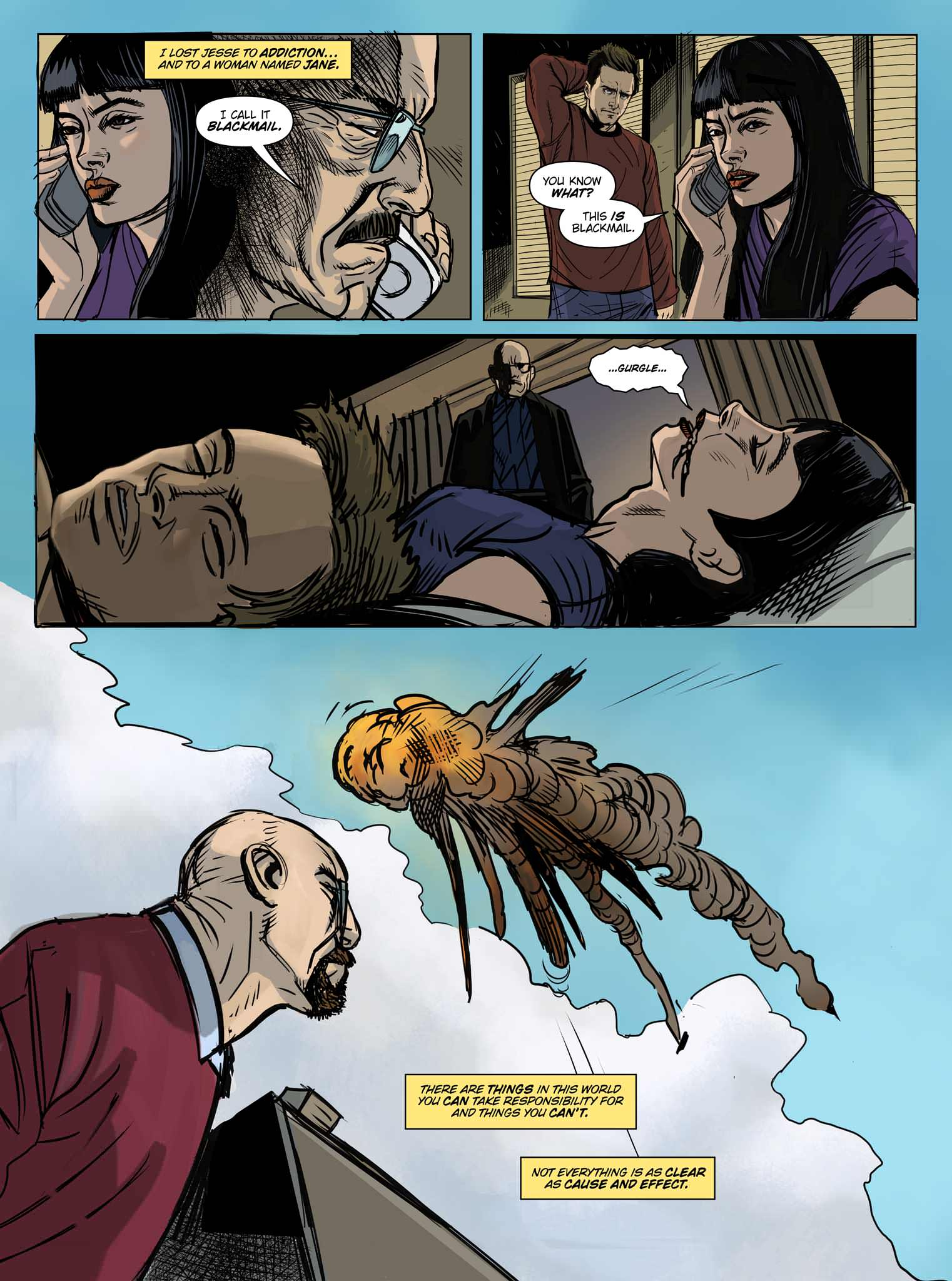 Read online Breaking Bad: All Bad Things comic -  Issue # Full - 9
