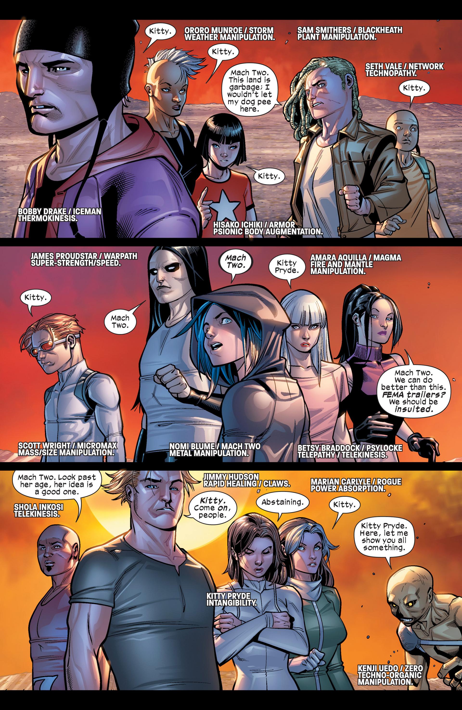 Read online Ultimate Comics X-Men comic -  Issue #19 - 9