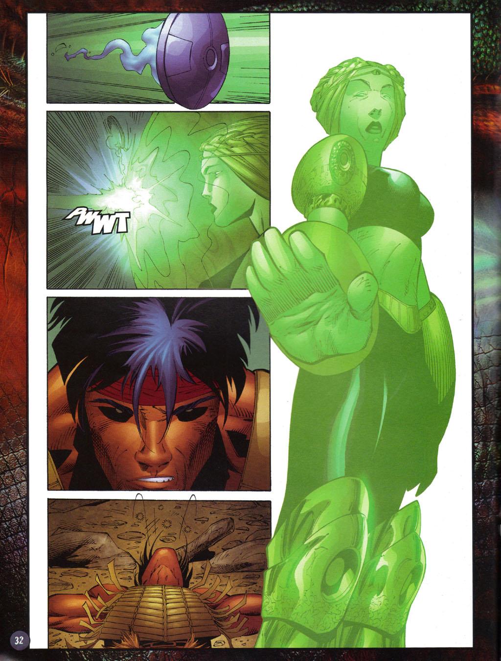 Read online Turok 2: Adon's Curse comic -  Issue # Full - 33