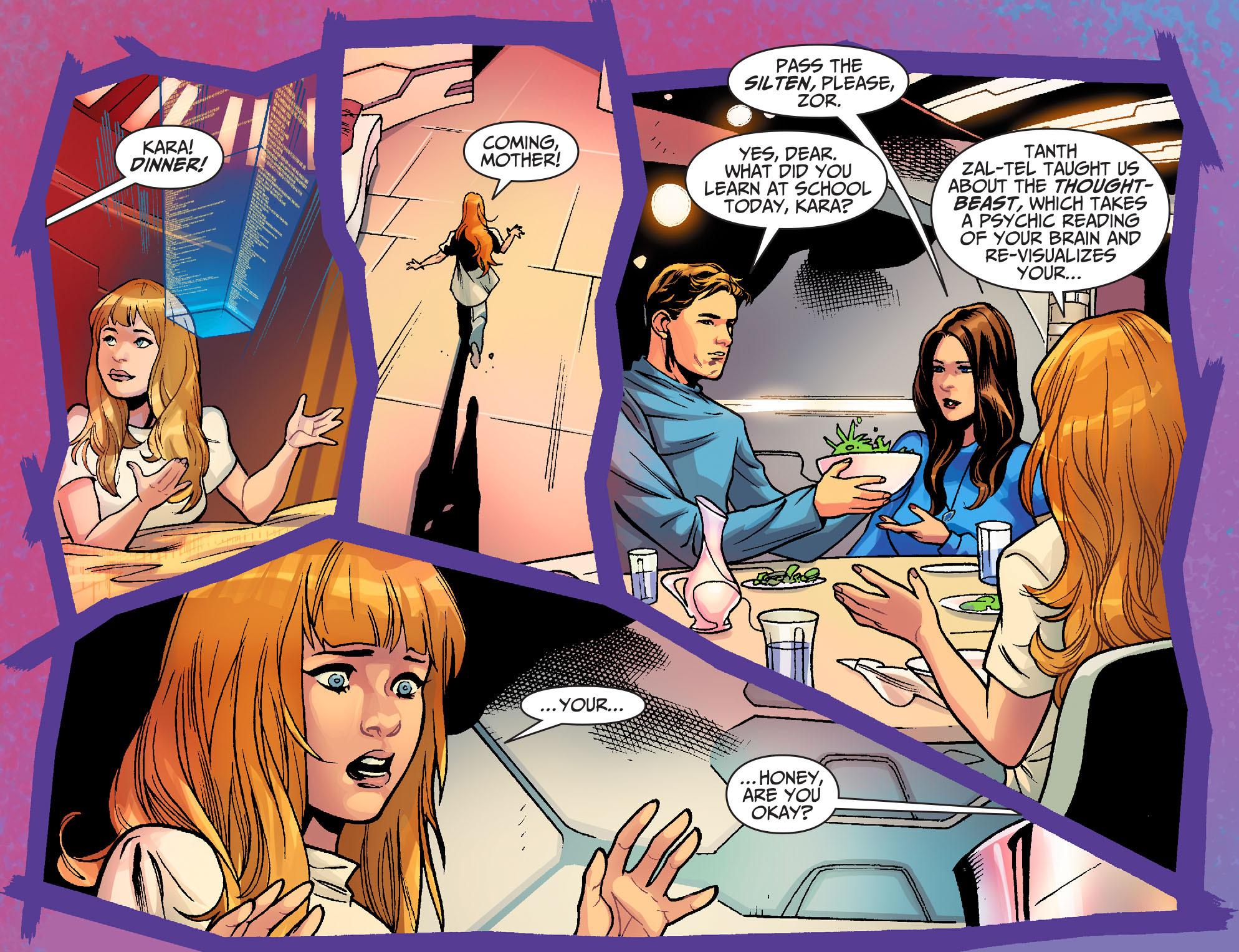 Read online Adventures of Supergirl comic -  Issue #6 - 19