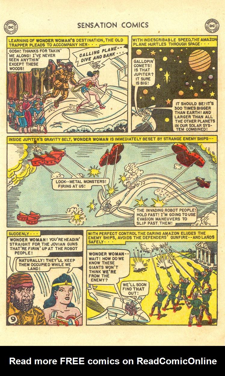 Read online Sensation (Mystery) Comics comic -  Issue #105 - 11