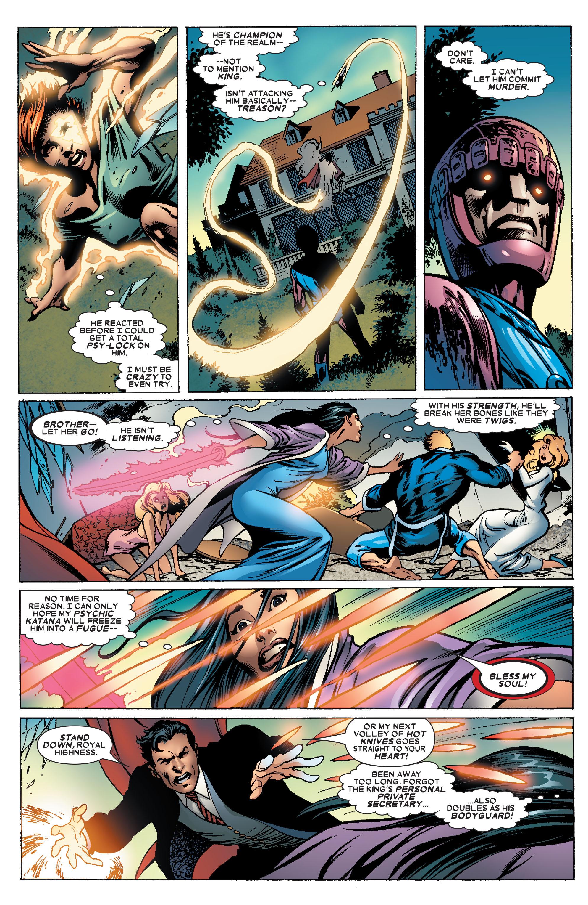 Read online Uncanny X-Men (1963) comic -  Issue #463 - 13