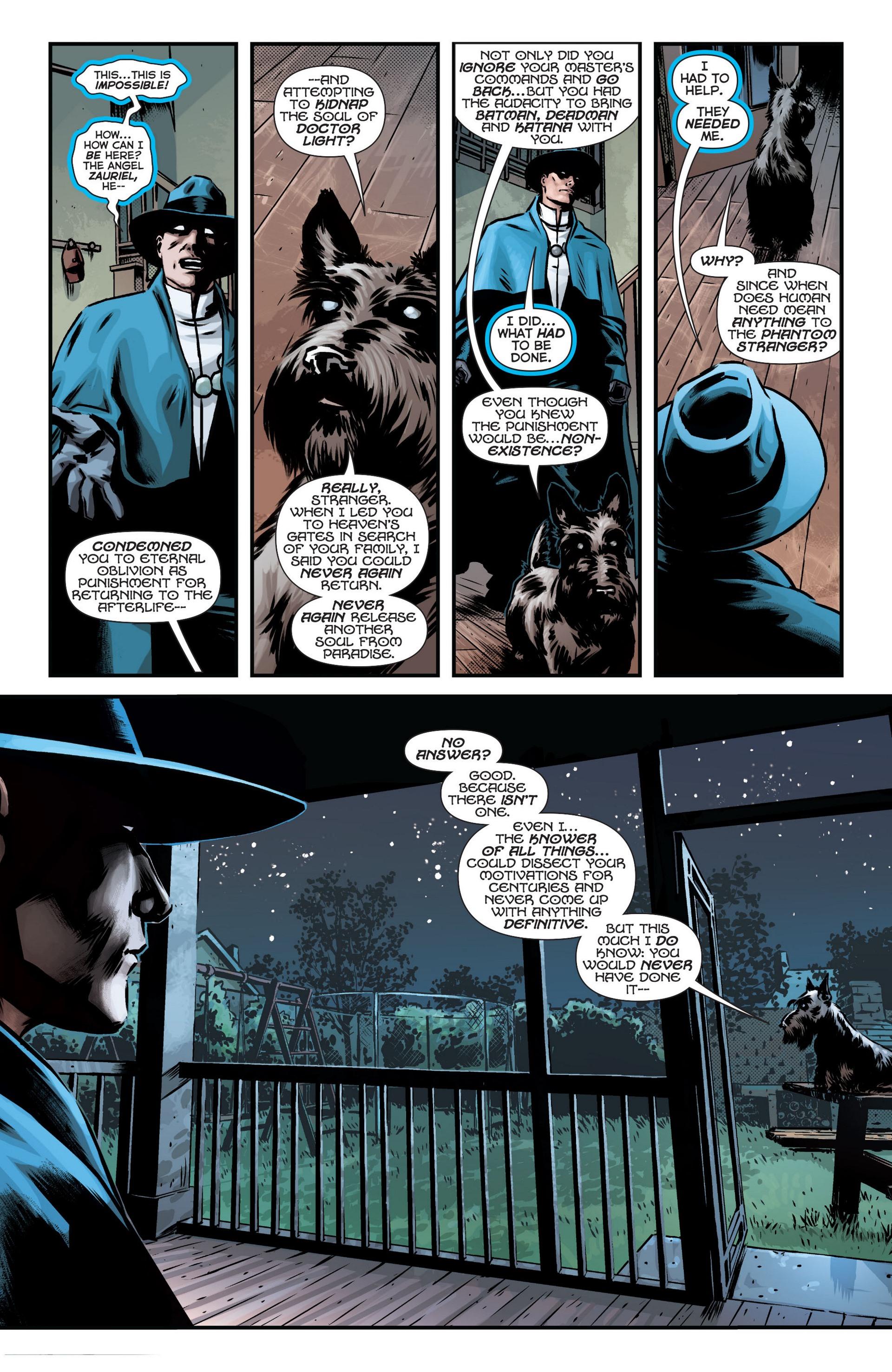 Read online Trinity of Sin: The Phantom Stranger comic -  Issue #12 - 5