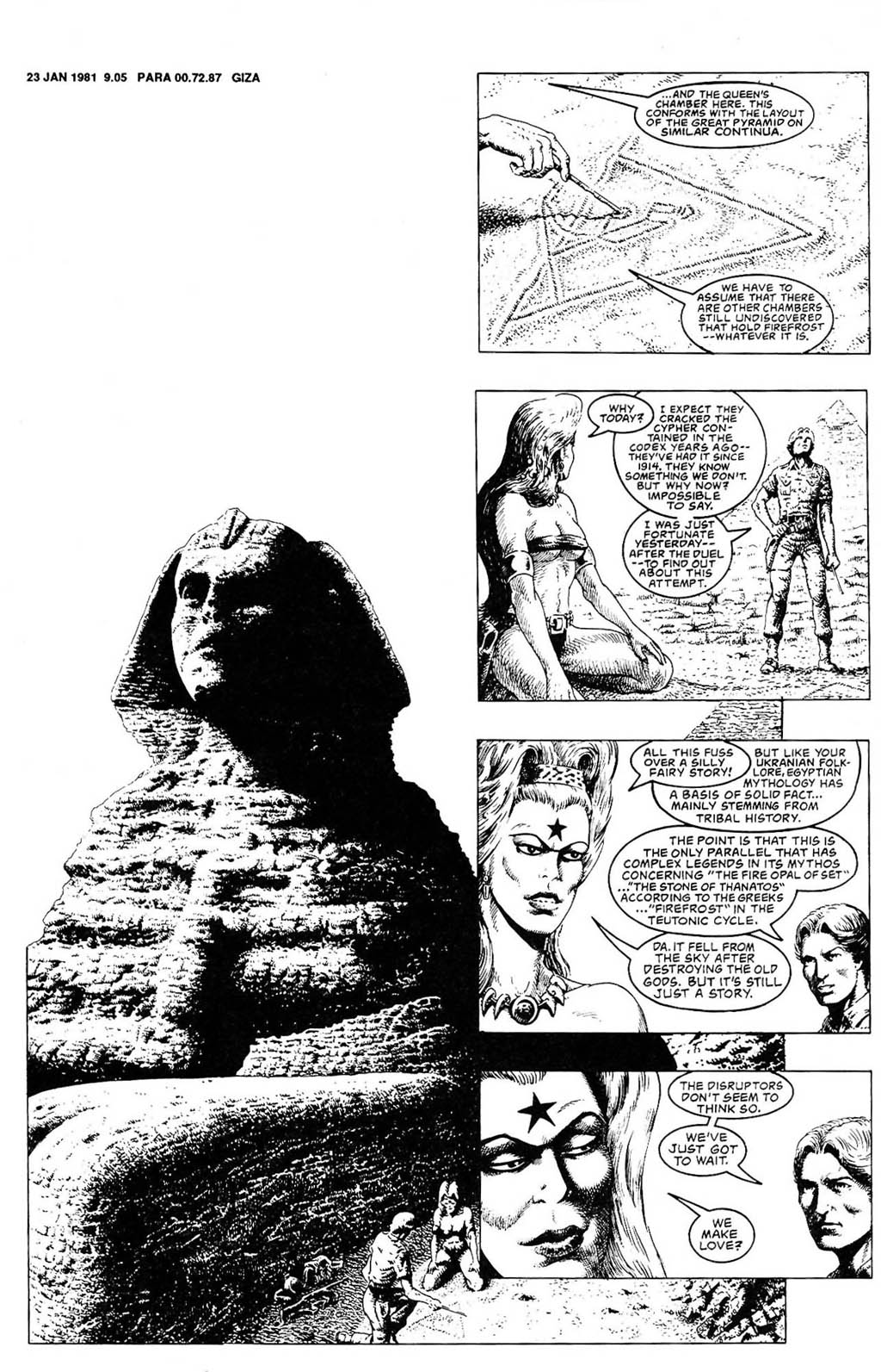 Read online The Adventures of Luther Arkwright comic -  Issue #2 - 16