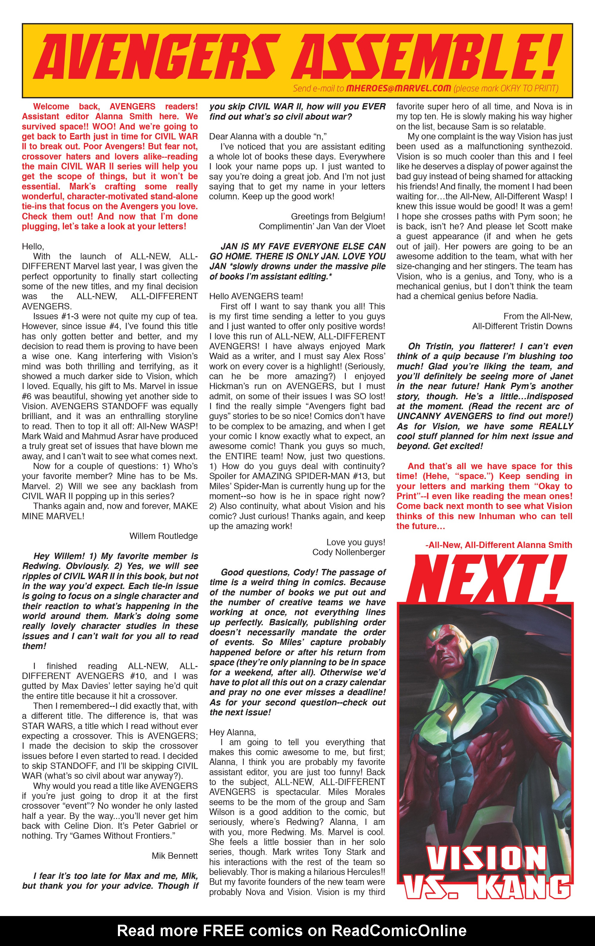 Read online All-New, All-Different Avengers comic -  Issue #12 - 23