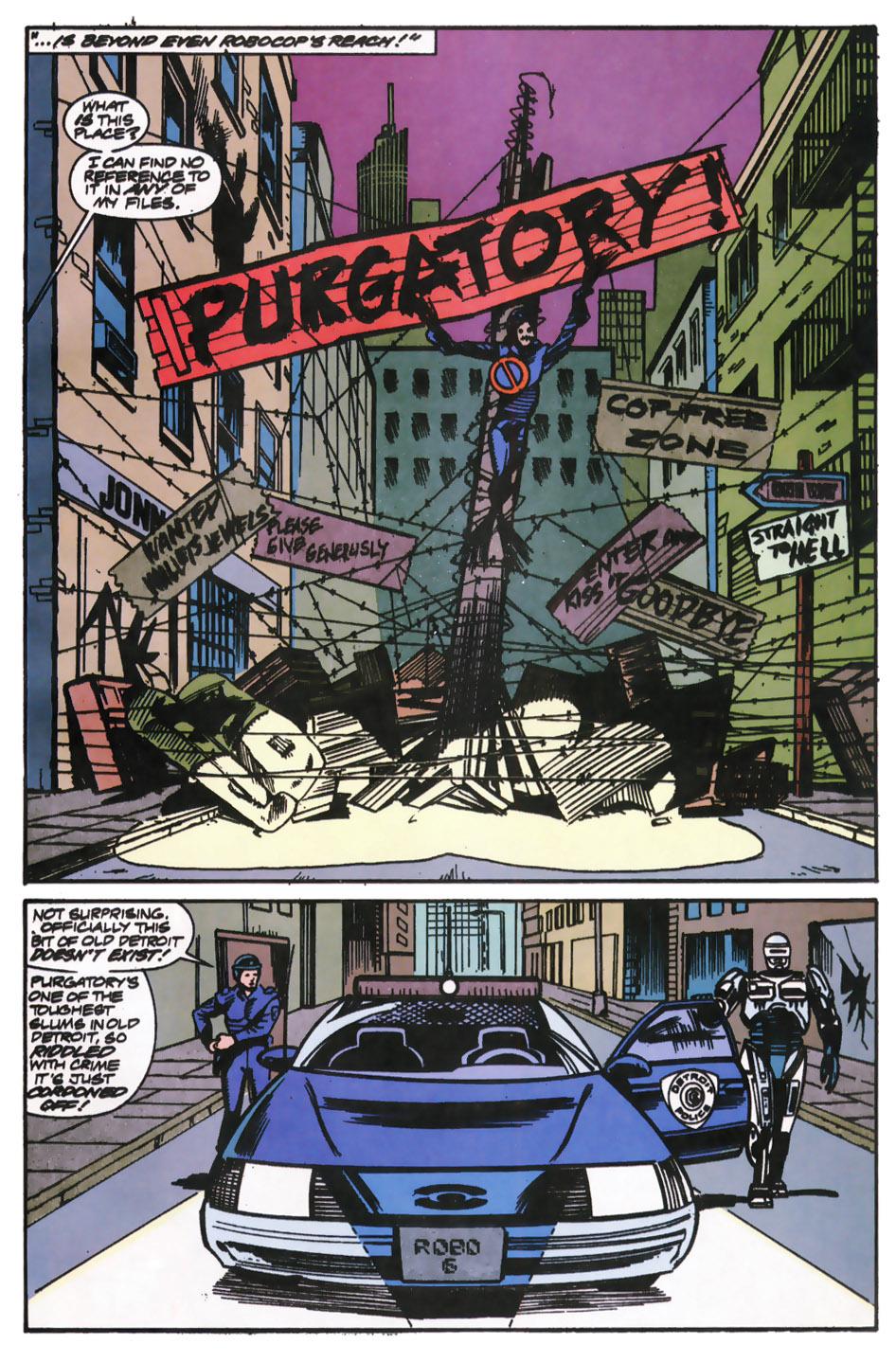 Read online Robocop (1990) comic -  Issue #12 - 12