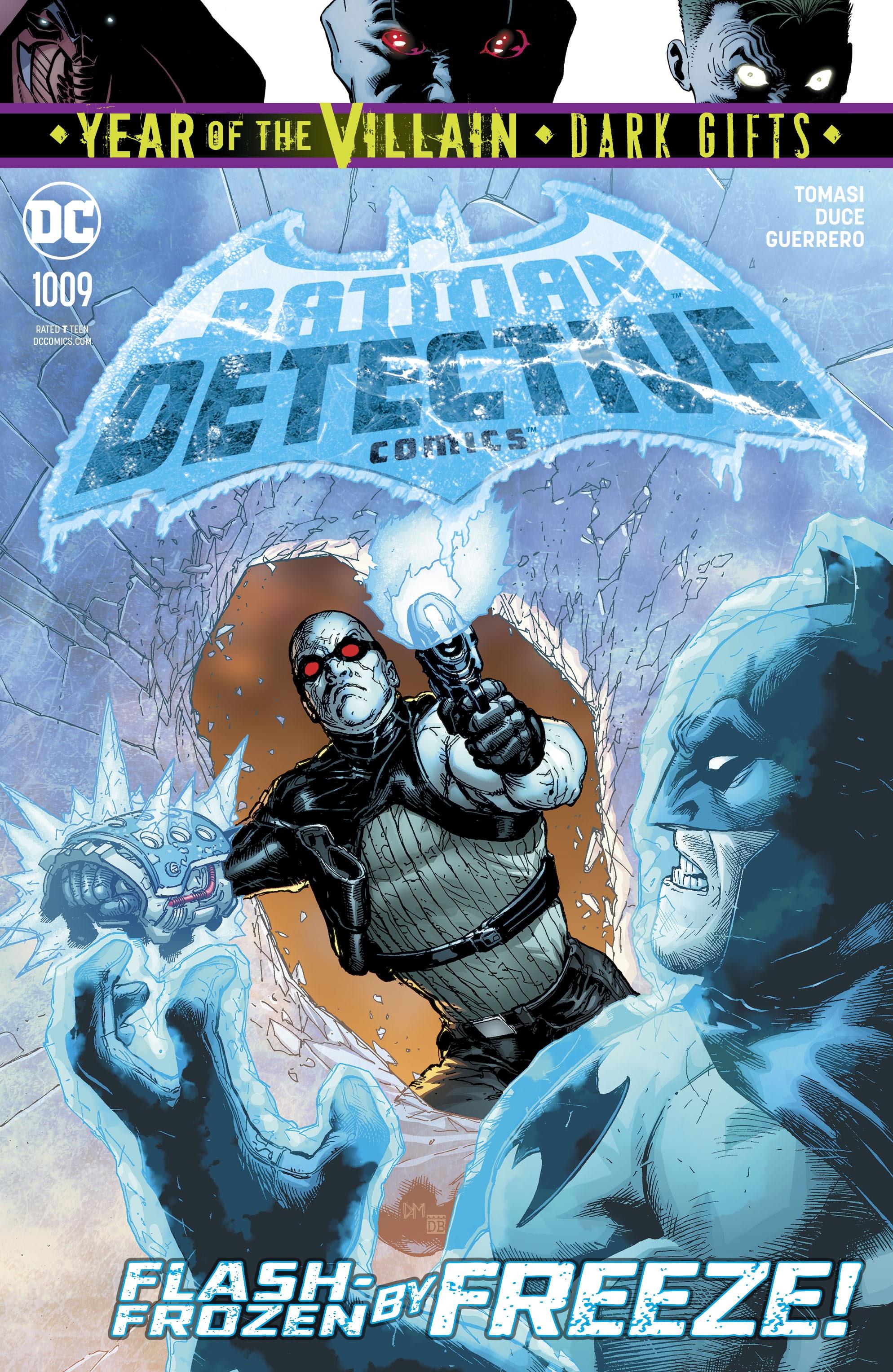 Detective Comics (2016) 1009 Page 1