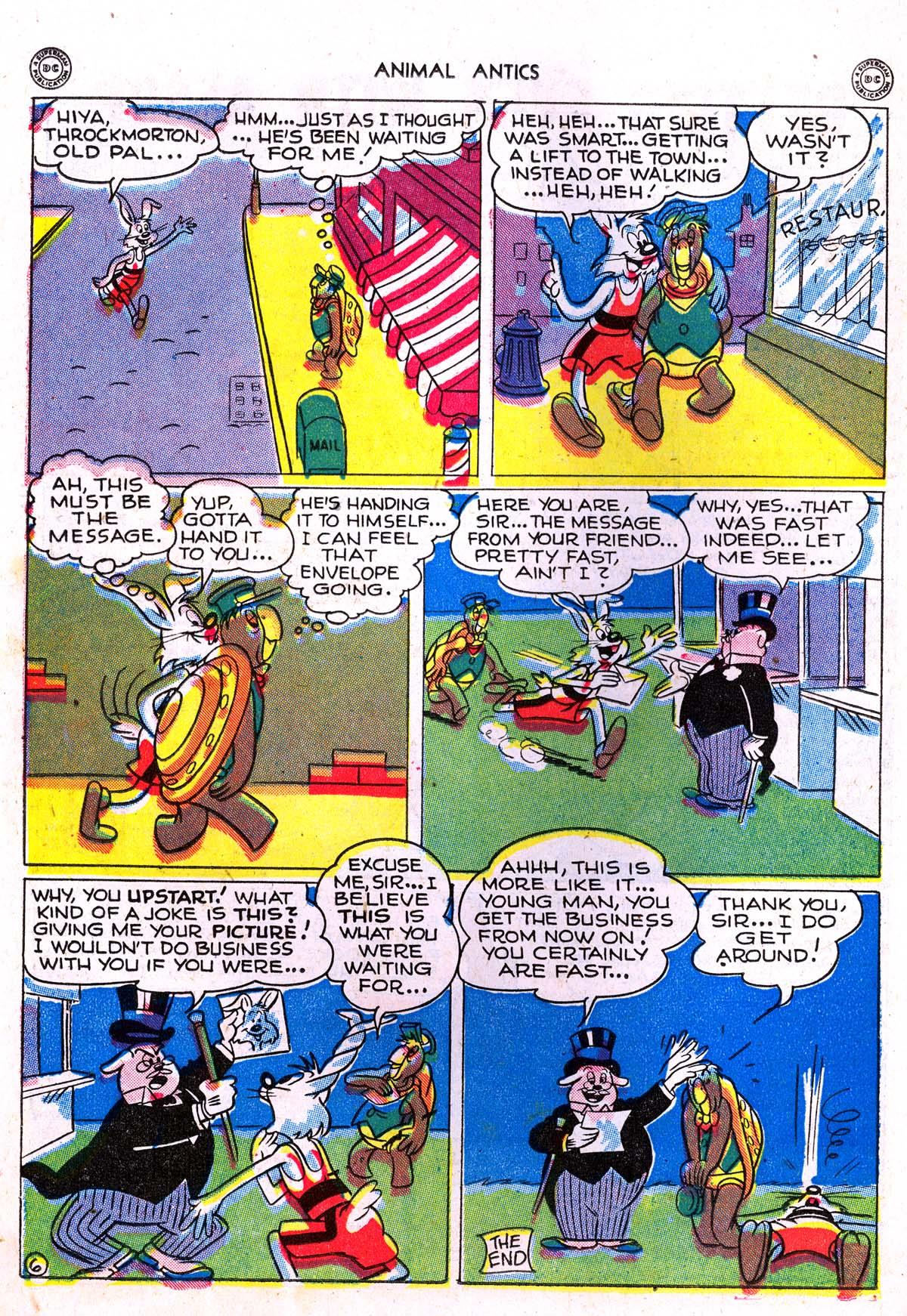 Read online Animal Antics comic -  Issue #5 - 32
