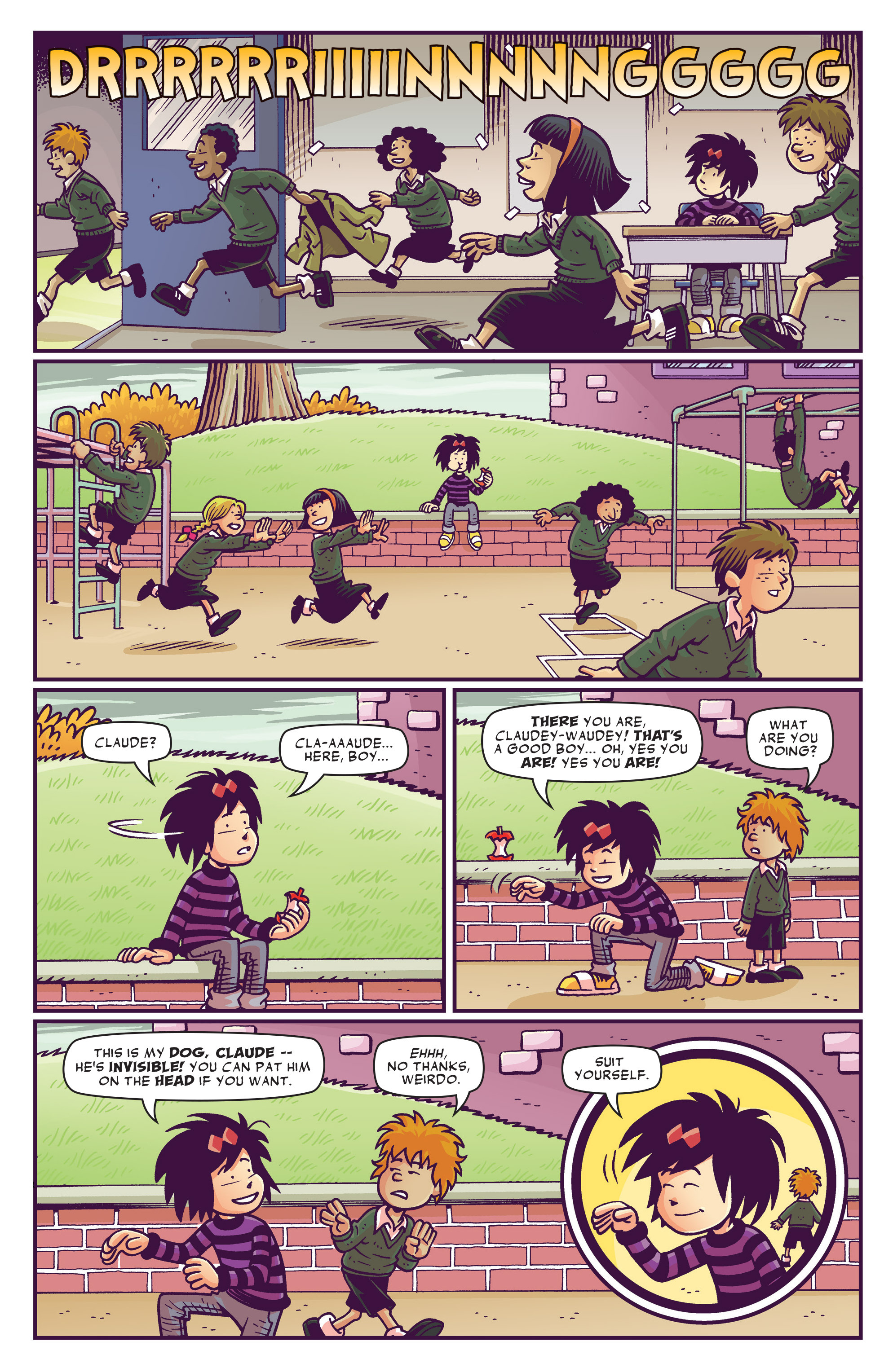 Read online Abigail And The Snowman comic -  Issue #1 - 5