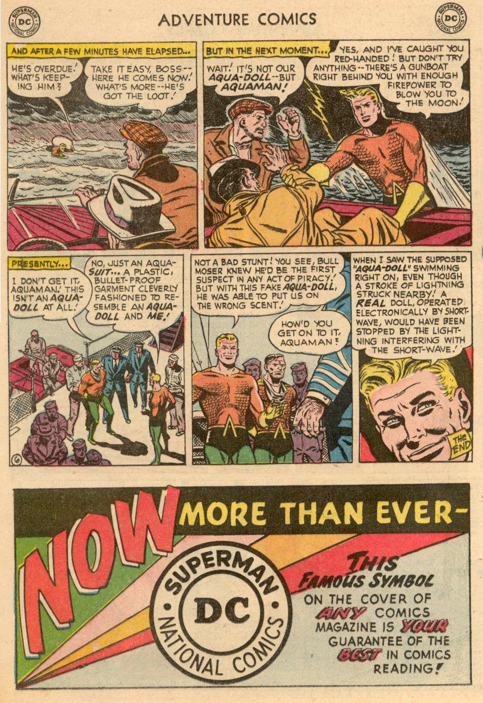 Read online Adventure Comics (1938) comic -  Issue #208 - 20