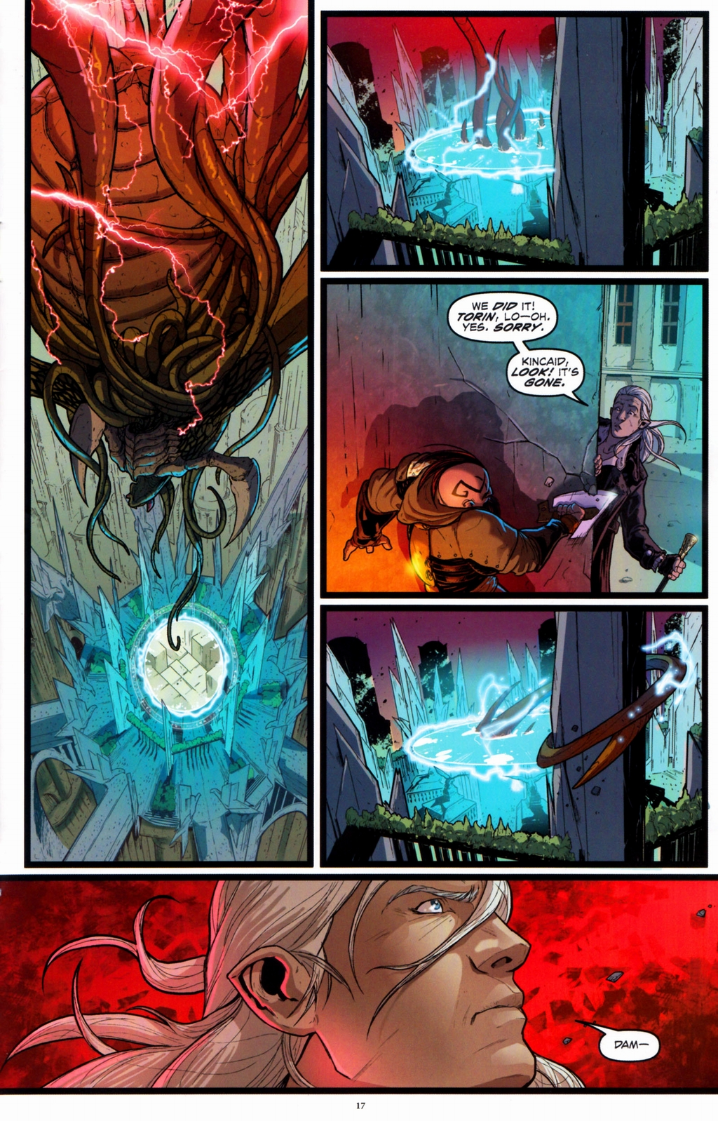 Read online Infestation 2: Dungeons & Dragons comic -  Issue #2 - 19