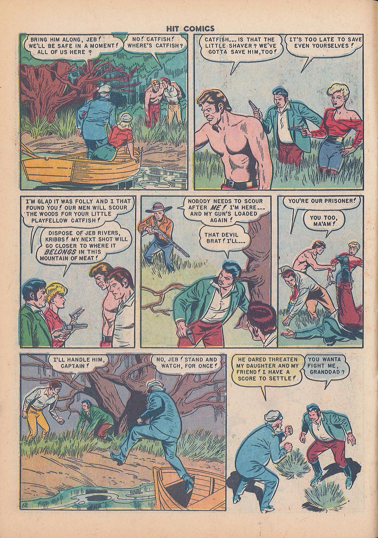 Read online Hit Comics comic -  Issue #64 - 14