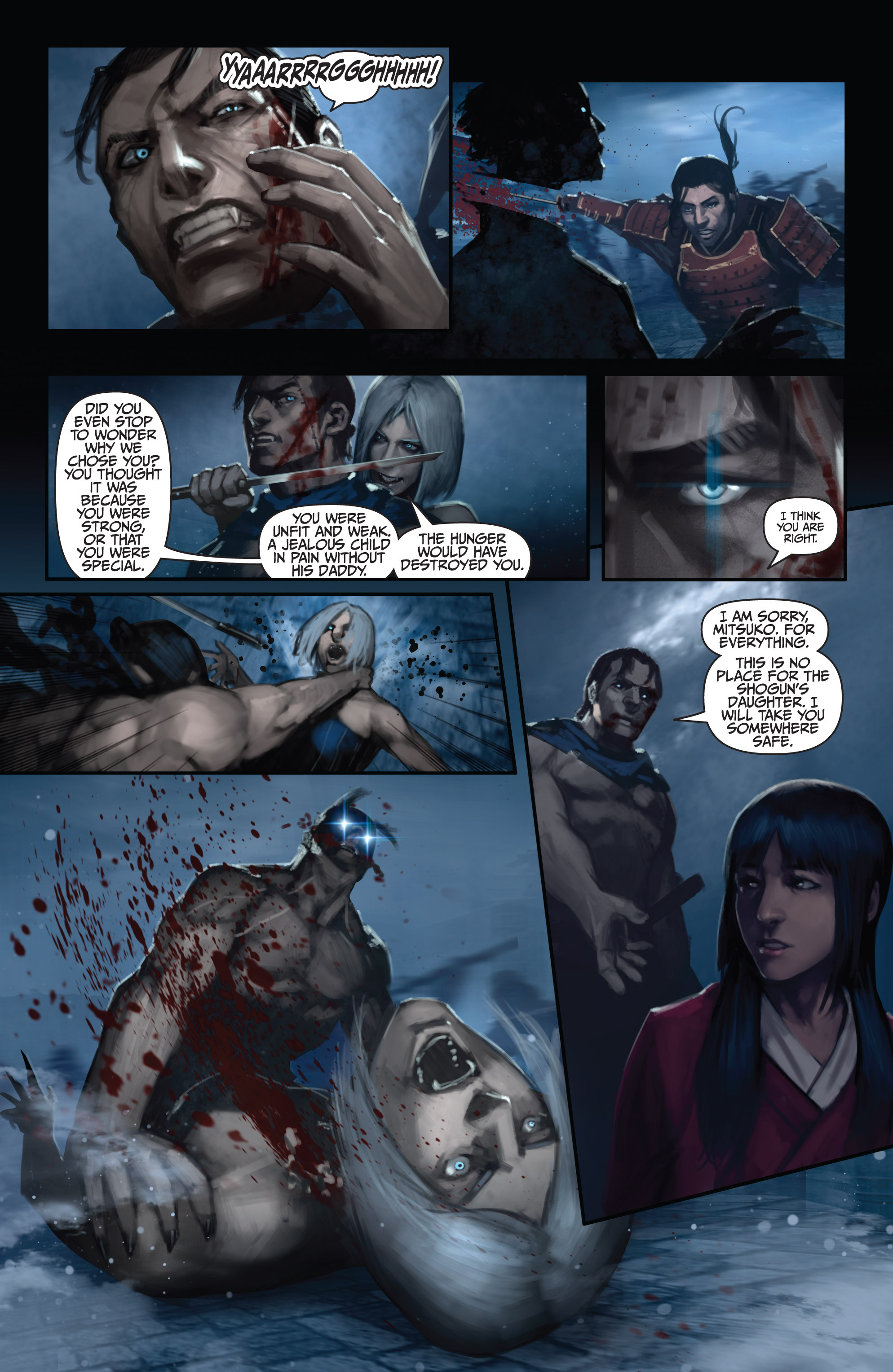 Read online Bushido: The Way of the Warrior comic -  Issue #5 - 14
