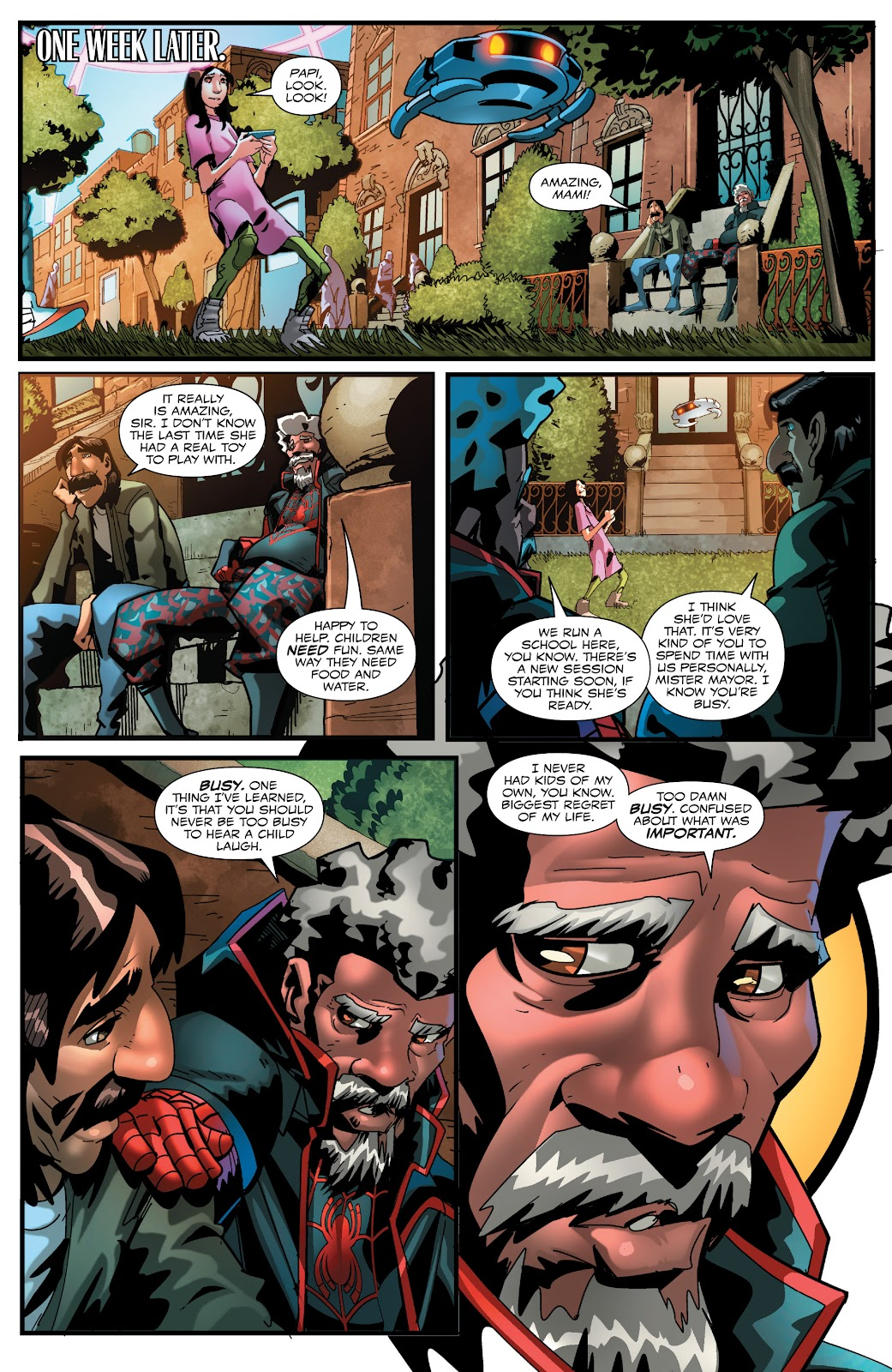 Read online Miles Morales: The End comic -  Issue # Full - 19