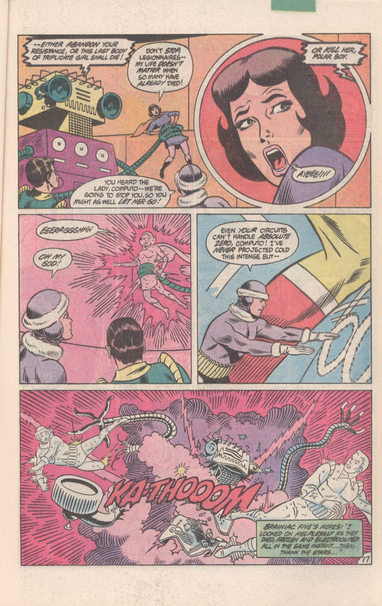 Legion of Super-Heroes (1980) 300 Page 17
