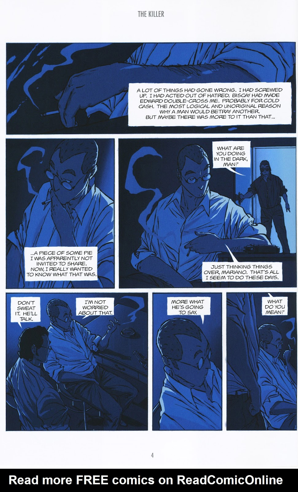 Read online The Killer comic -  Issue #9 - 4
