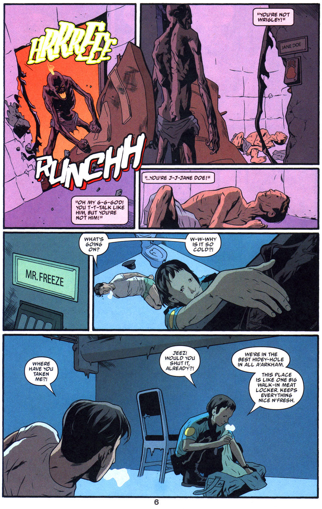Read online Arkham Asylum: Living Hell comic -  Issue #5 - 8