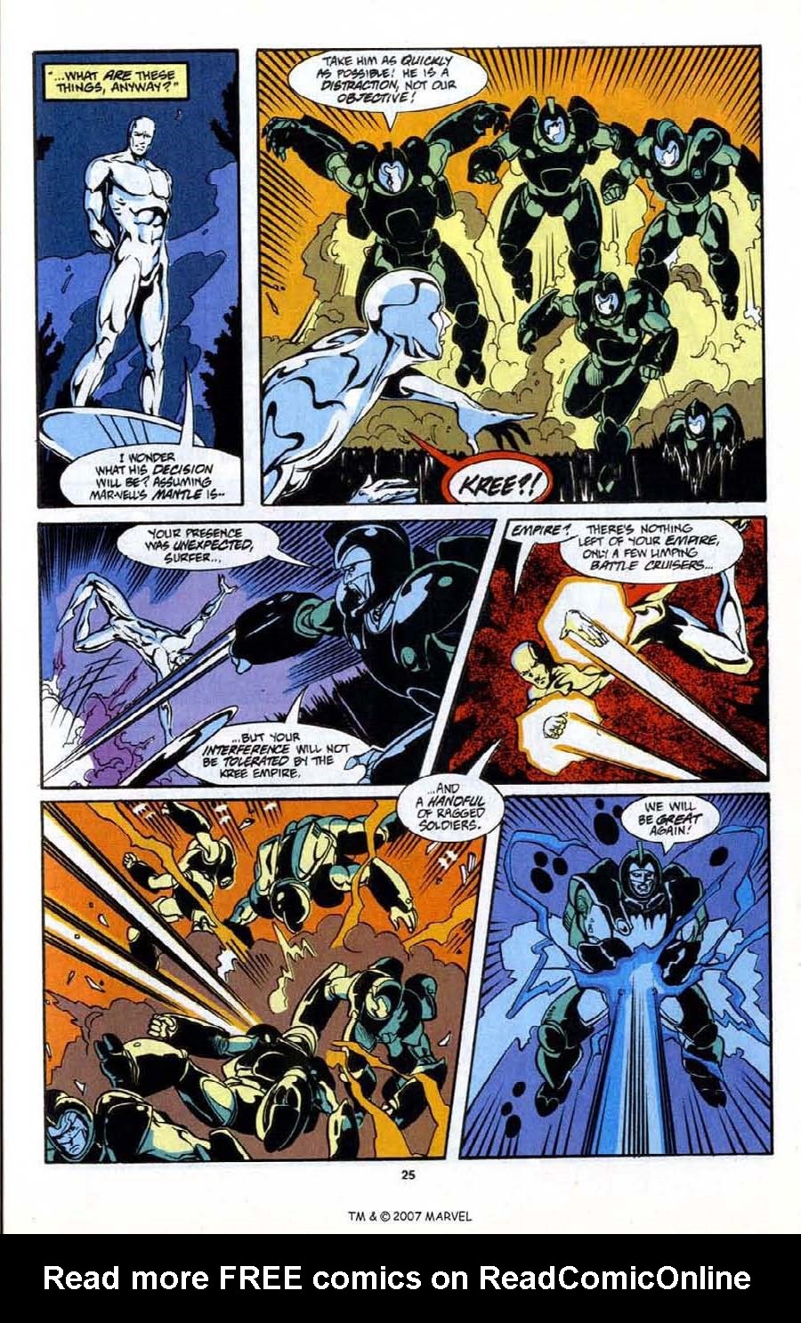 Read online Silver Surfer (1987) comic -  Issue # _Annual 6 - 27