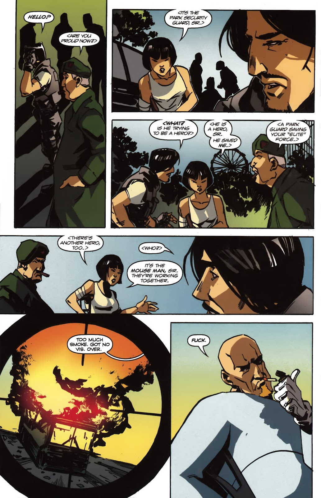 Read online Ricky Rouse Has A Gun comic -  Issue # TPB (Part 2) - 17