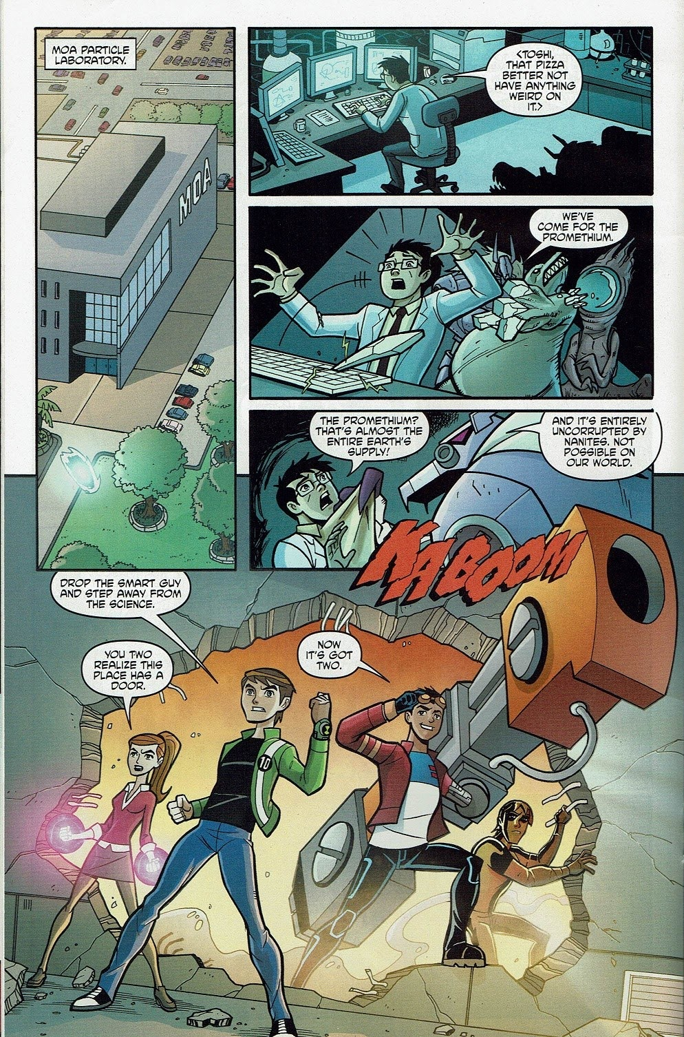 Read online Cartoon Network Action Pack comic -  Issue #65 - 18