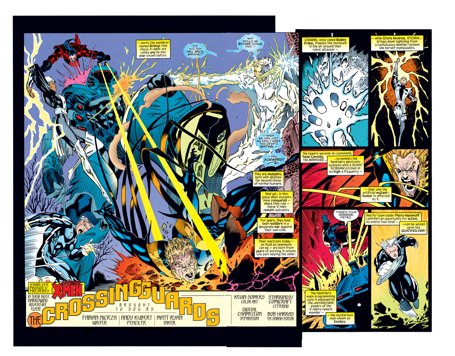 Read online Amazing X-Men (1995) comic -  Issue #1 - 6