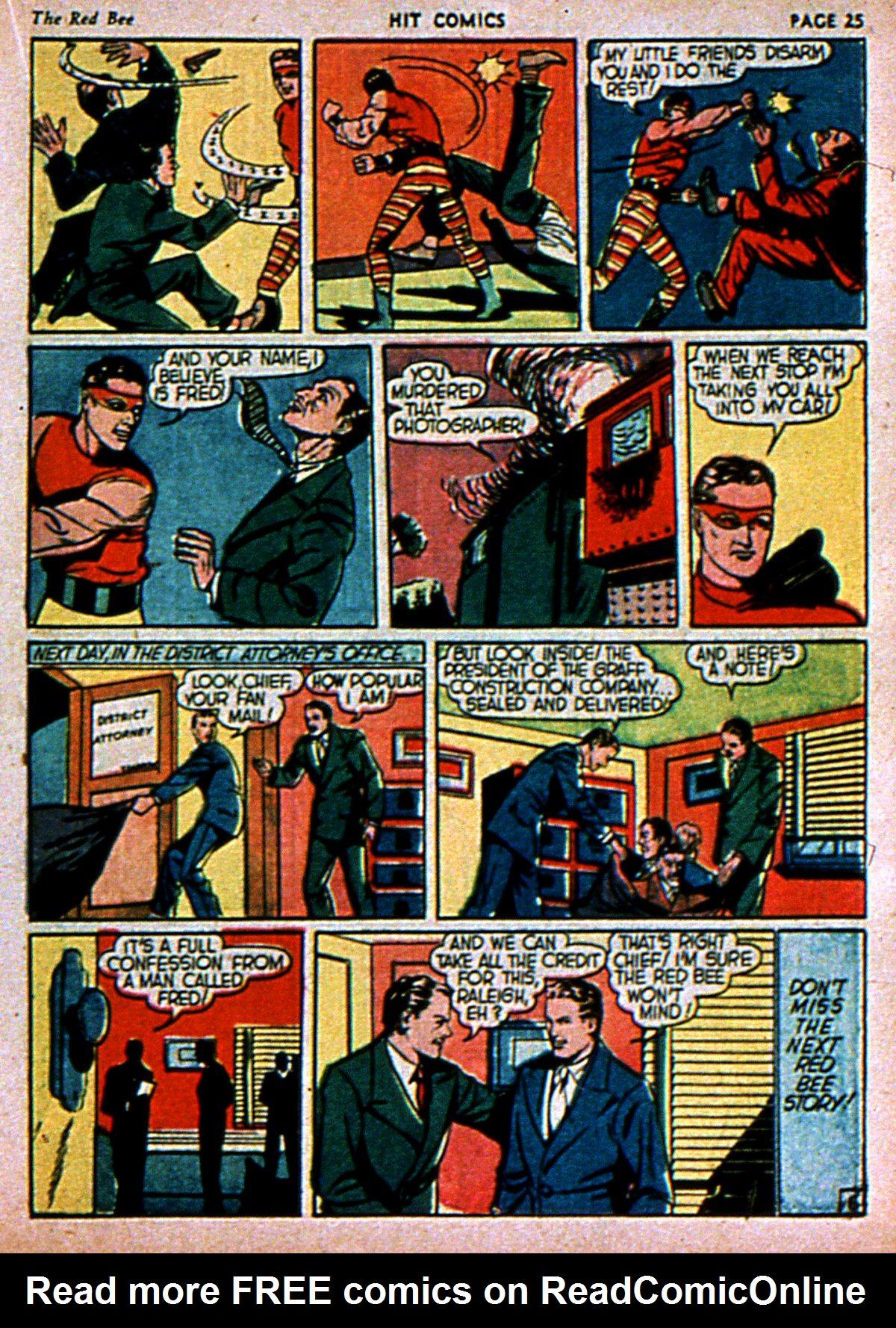 Read online Hit Comics comic -  Issue #3 - 27