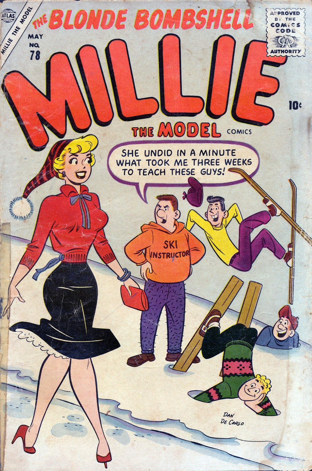 Millie the Model issue 78 - Page 1