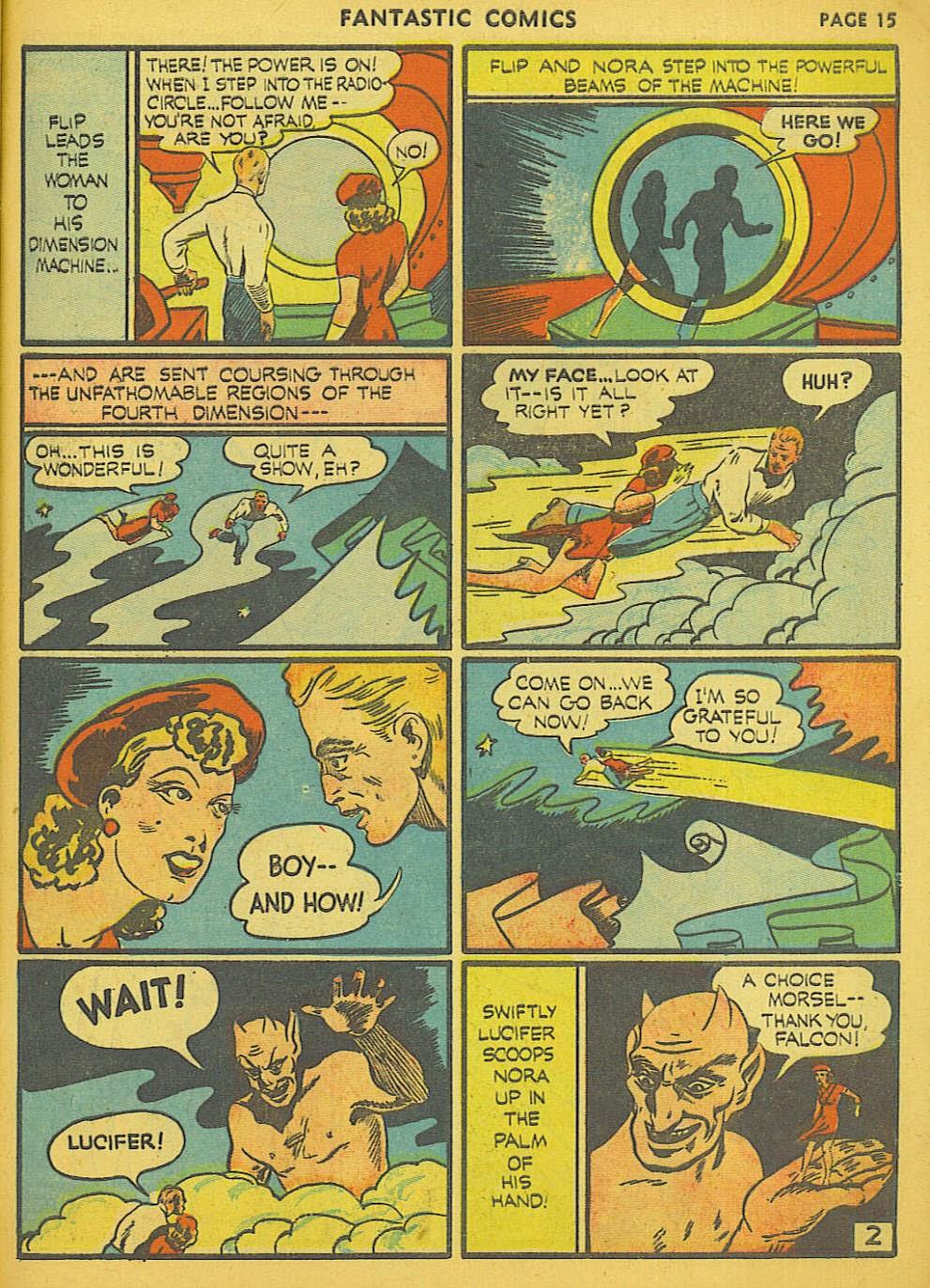 Read online Fantastic Comics comic -  Issue #15 - 8
