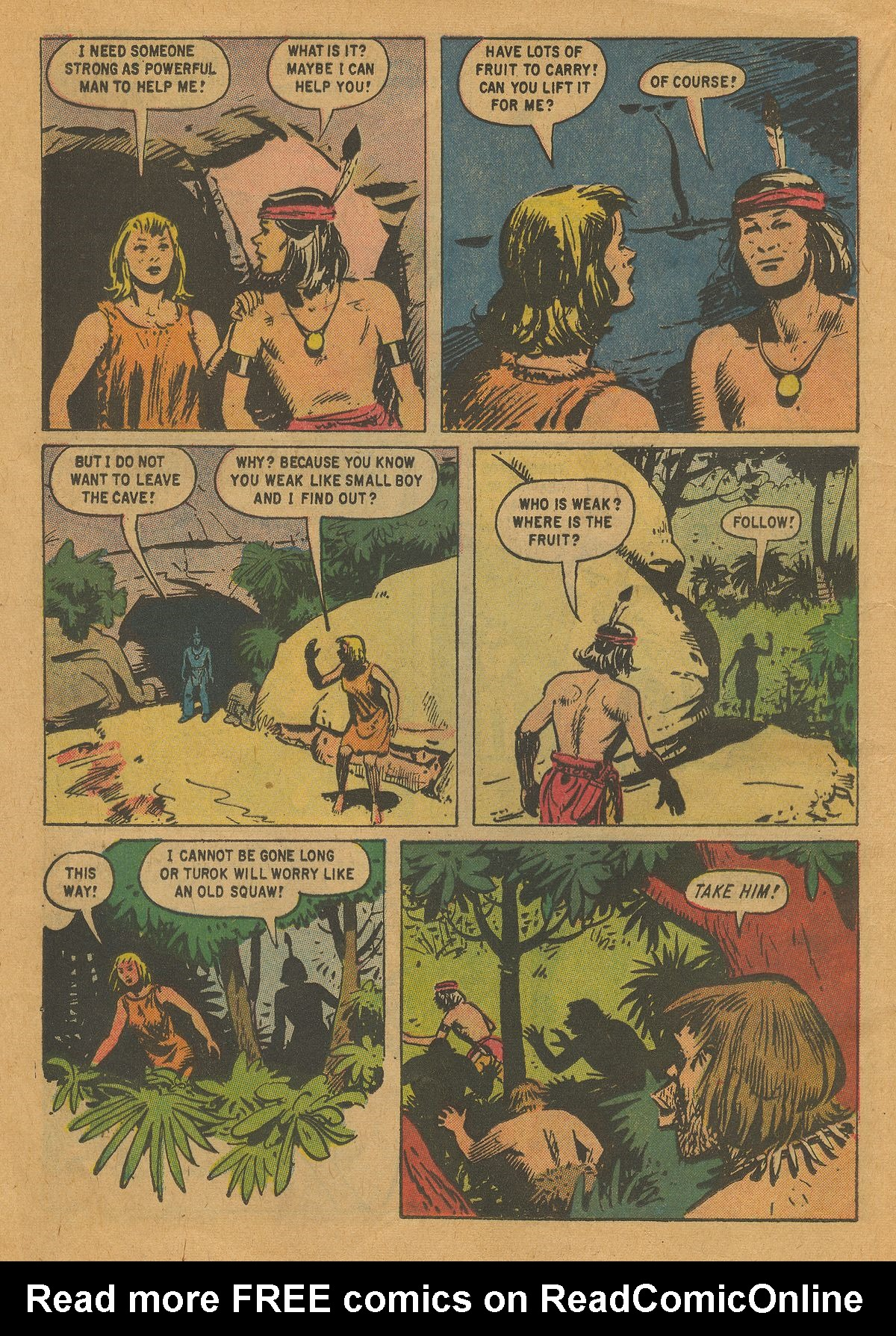 Read online Turok, Son of Stone comic -  Issue #22 - 12