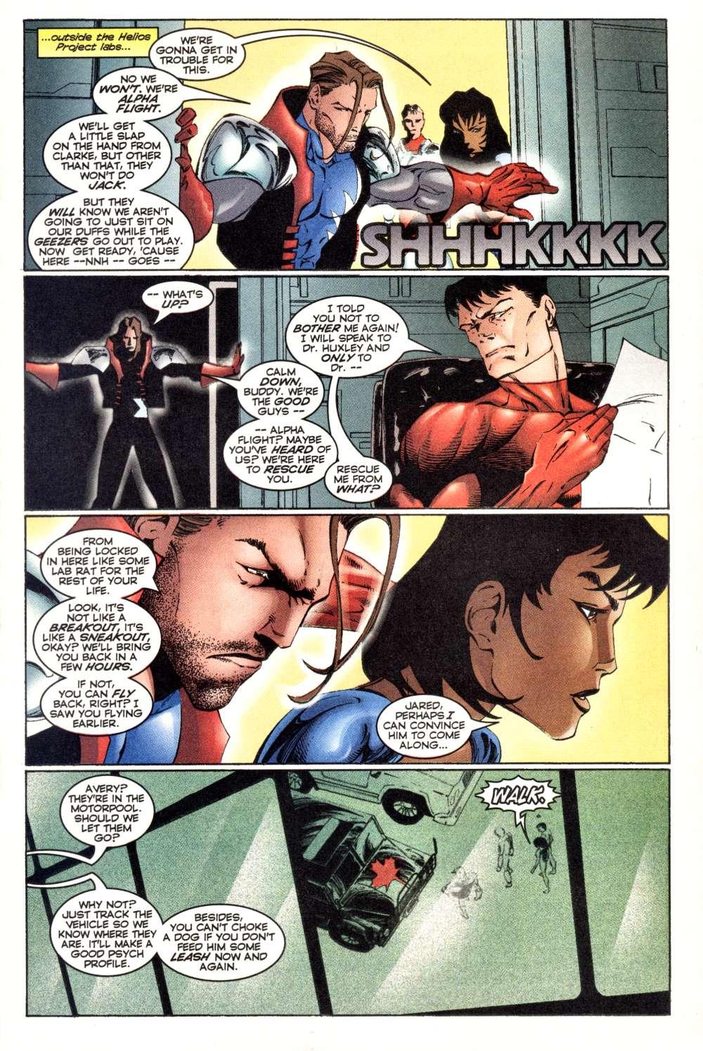 Read online Alpha Flight (1997) comic -  Issue #3 - 17