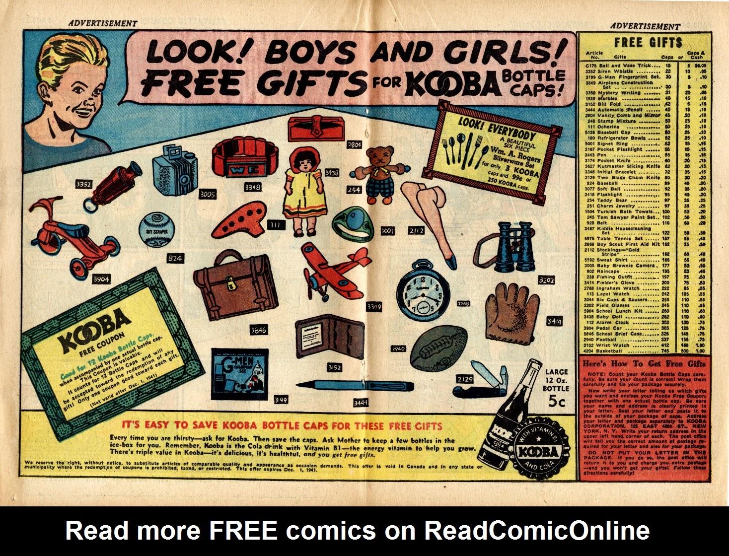 Read online Fantastic Comics comic -  Issue #17 - 34