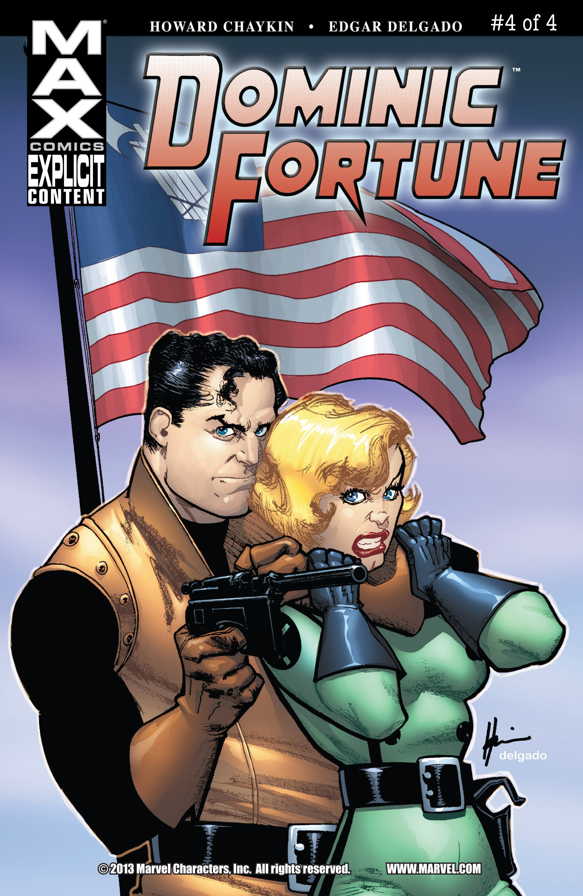 Read online Dominic Fortune comic -  Issue #4 - 1