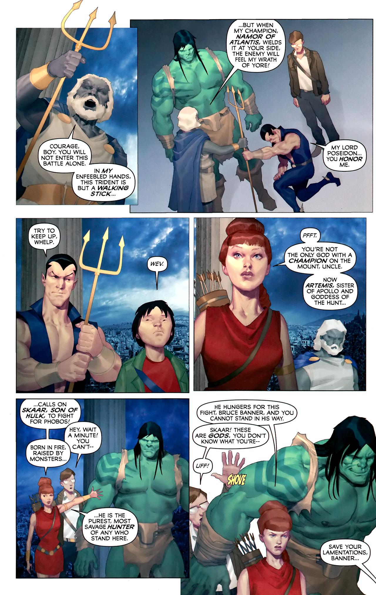 Read online Hercules: Fall of an Avenger comic -  Issue #2 - 9