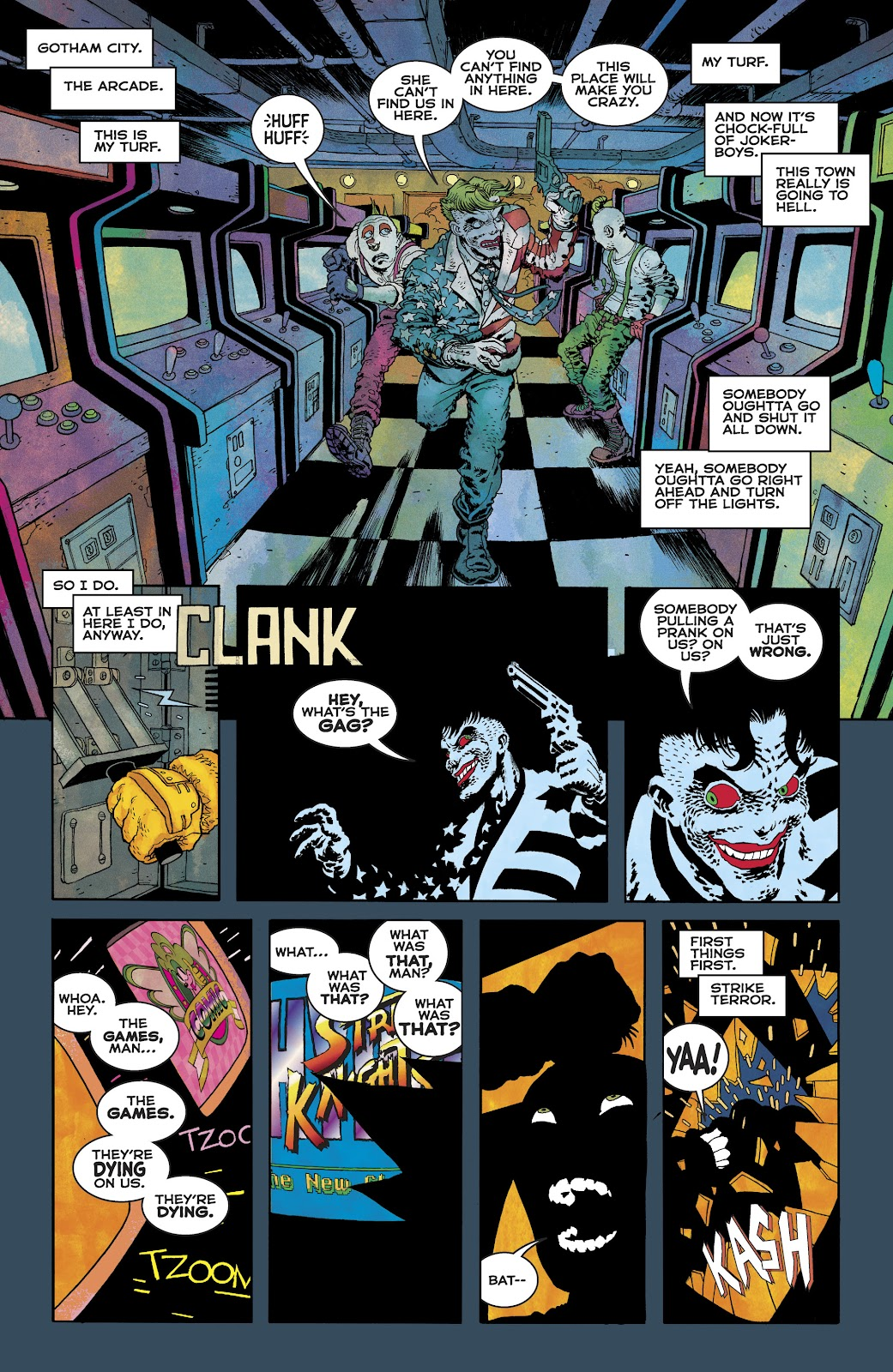 Dark Knight Returns: The Golden Child issue Full - Page 36