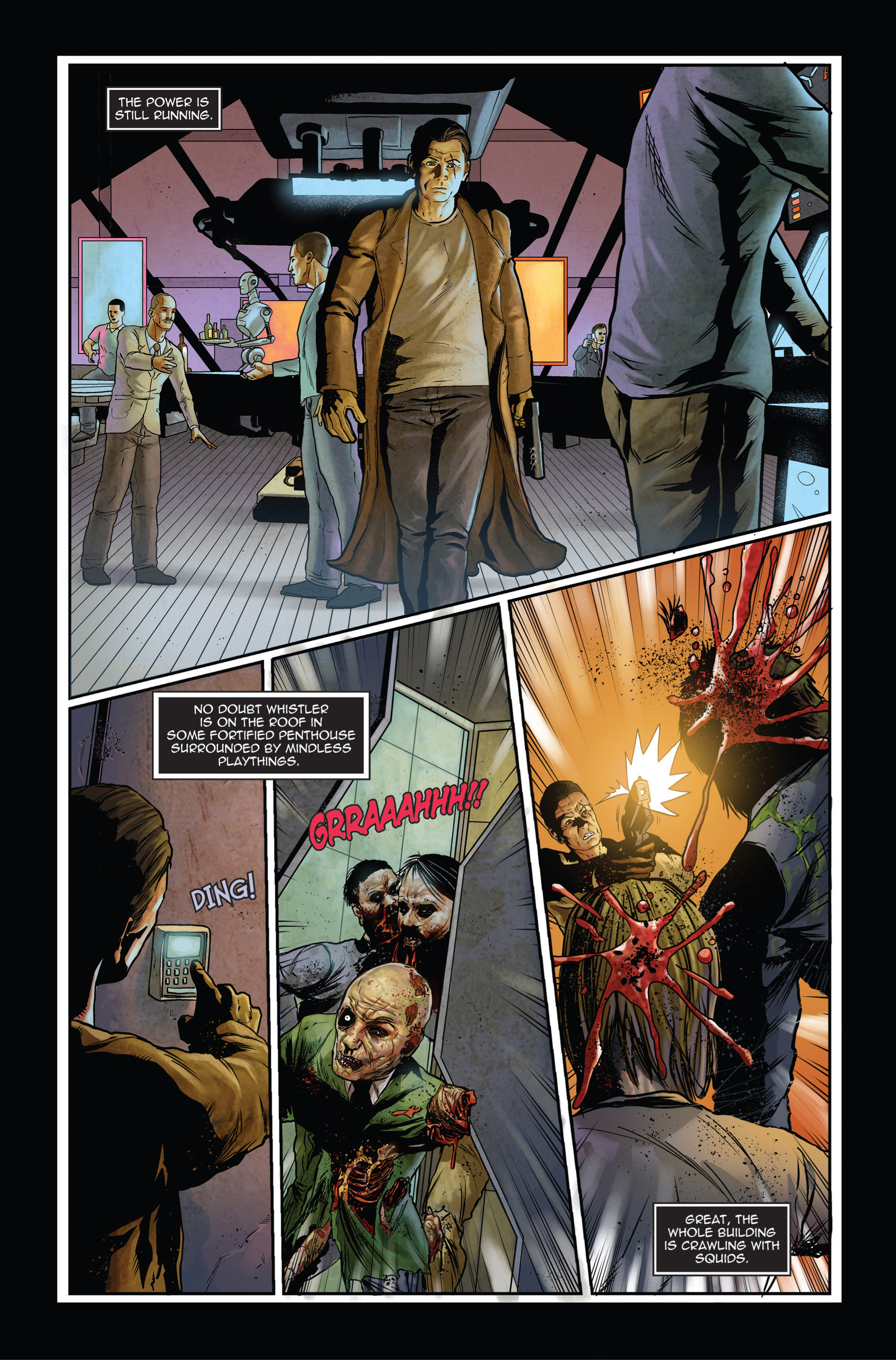 Read online Trancers comic -  Issue #1 - 9