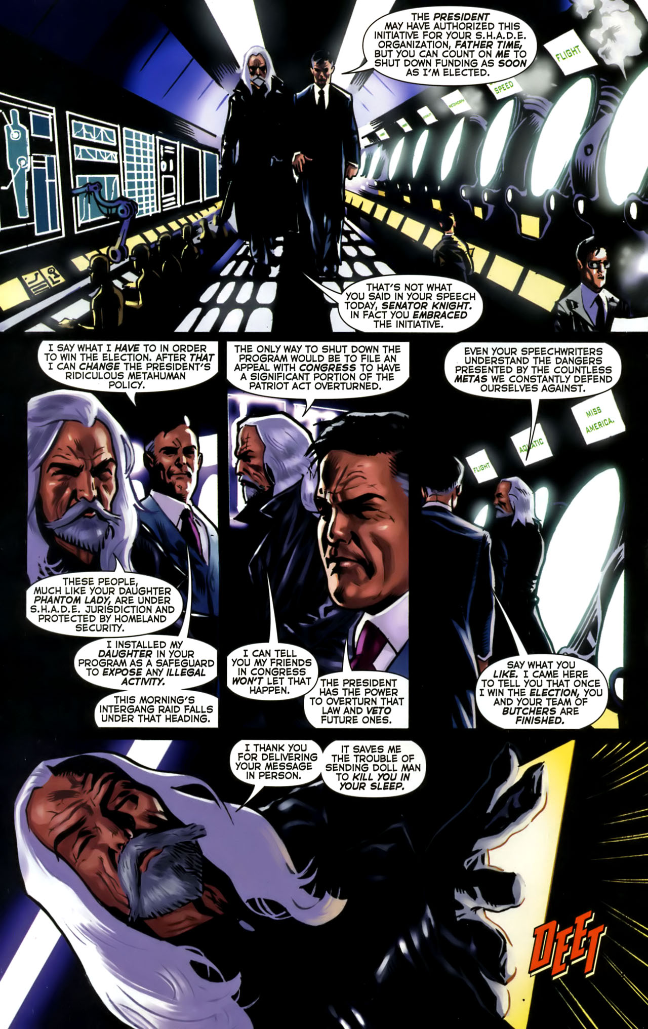 Read online Uncle Sam and the Freedom Fighters (2006) comic -  Issue #1 - 15