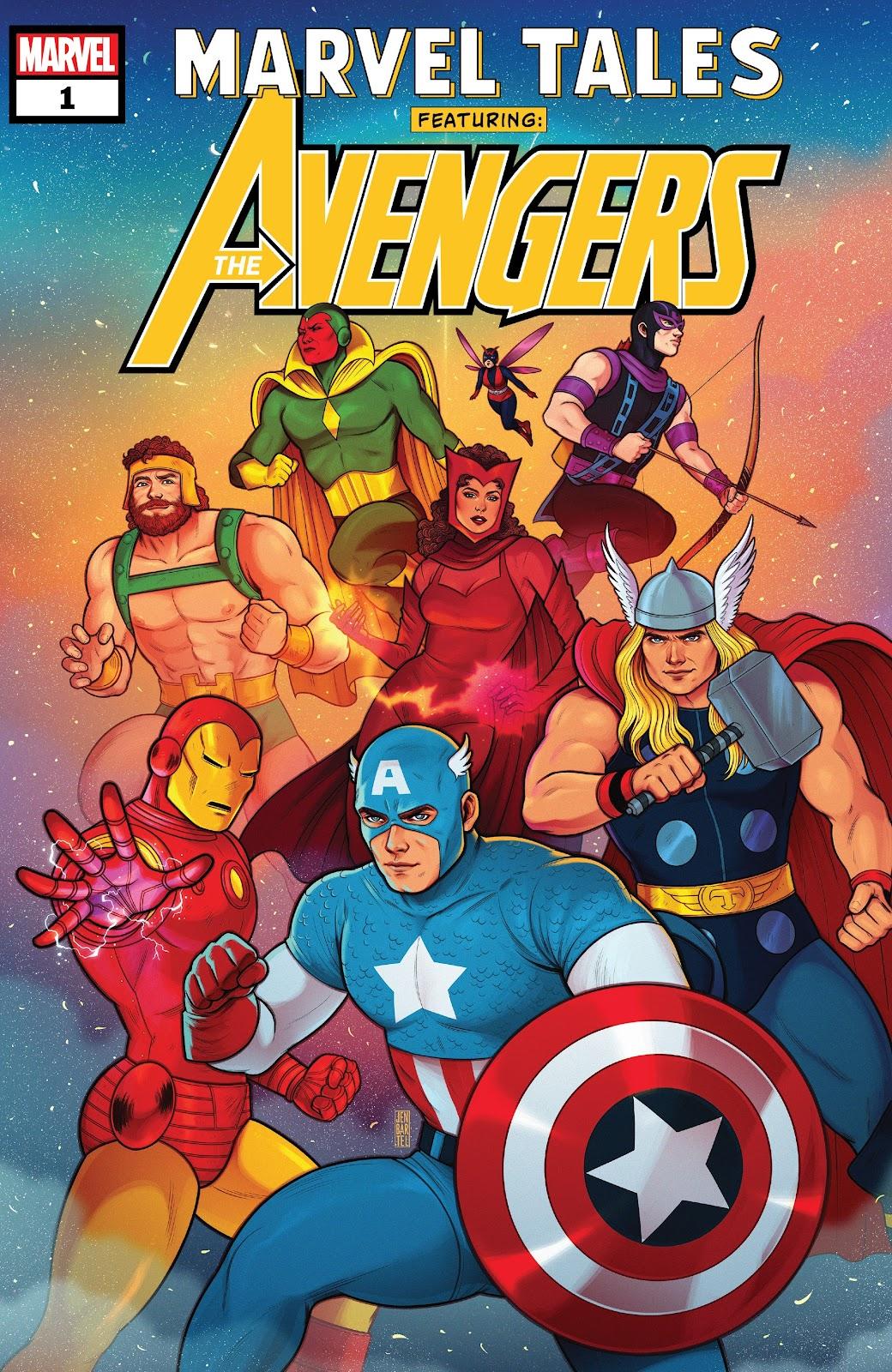 Read online Marvel Tales: Avengers comic -  Issue # Full - 1