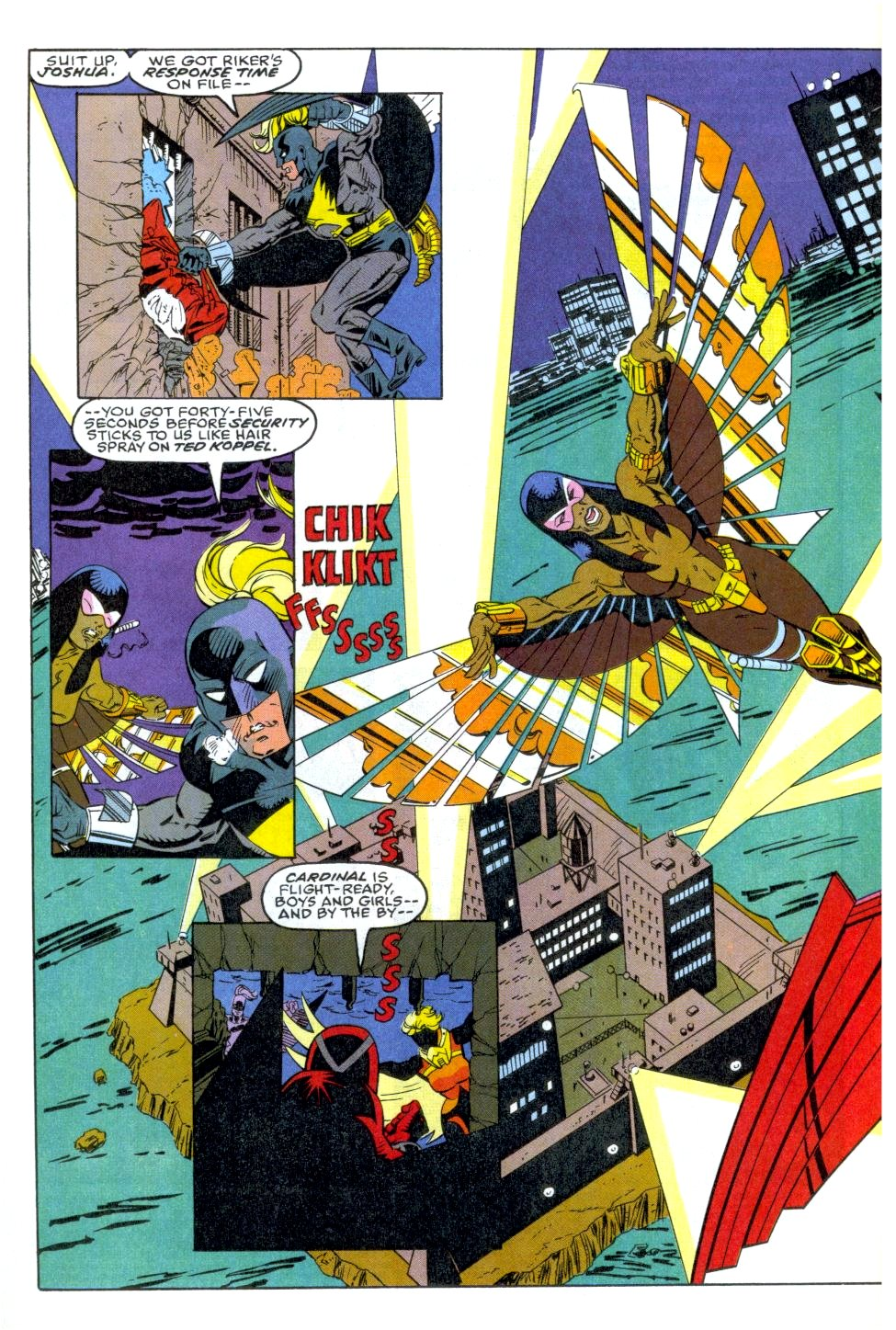The New Warriors Issue #35 #39 - English 3