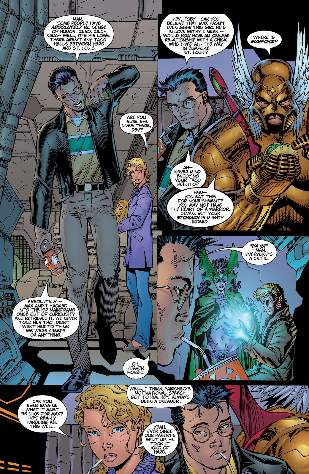 Read online Divine Right comic -  Issue # _TPB The Adventures of Max Faraday (Part 2) - 14