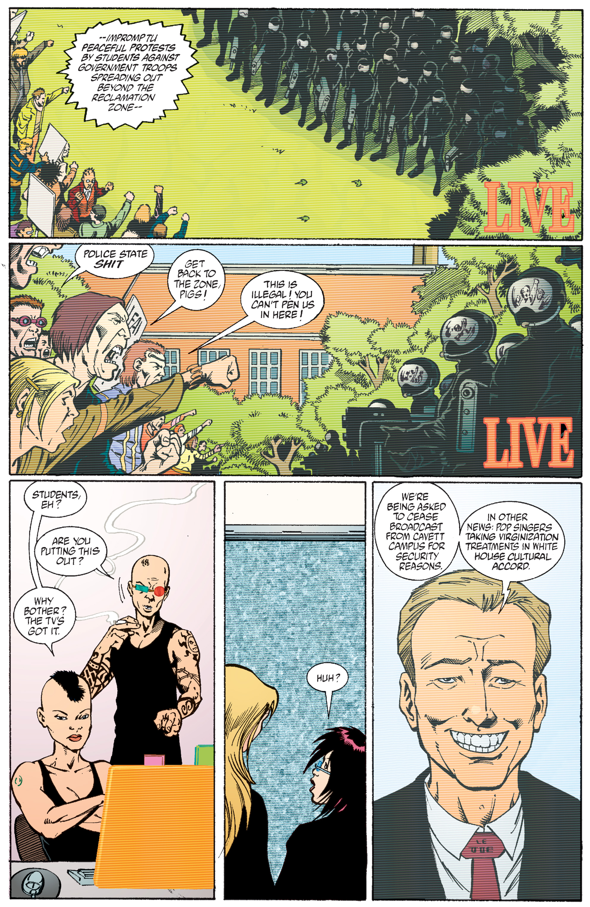 Read online Transmetropolitan comic -  Issue #56 - 18