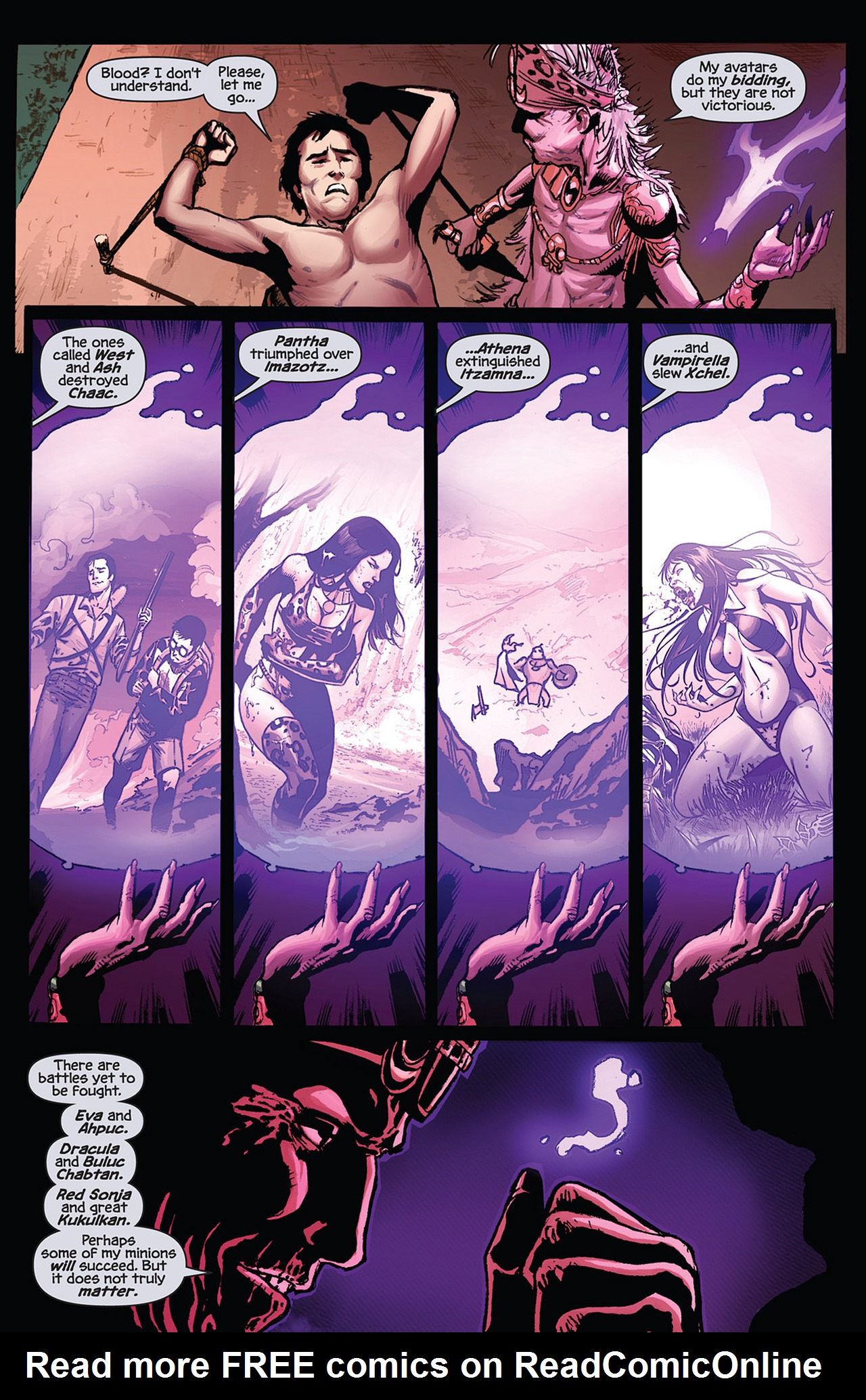 Read online Prophecy comic -  Issue #5 - 8