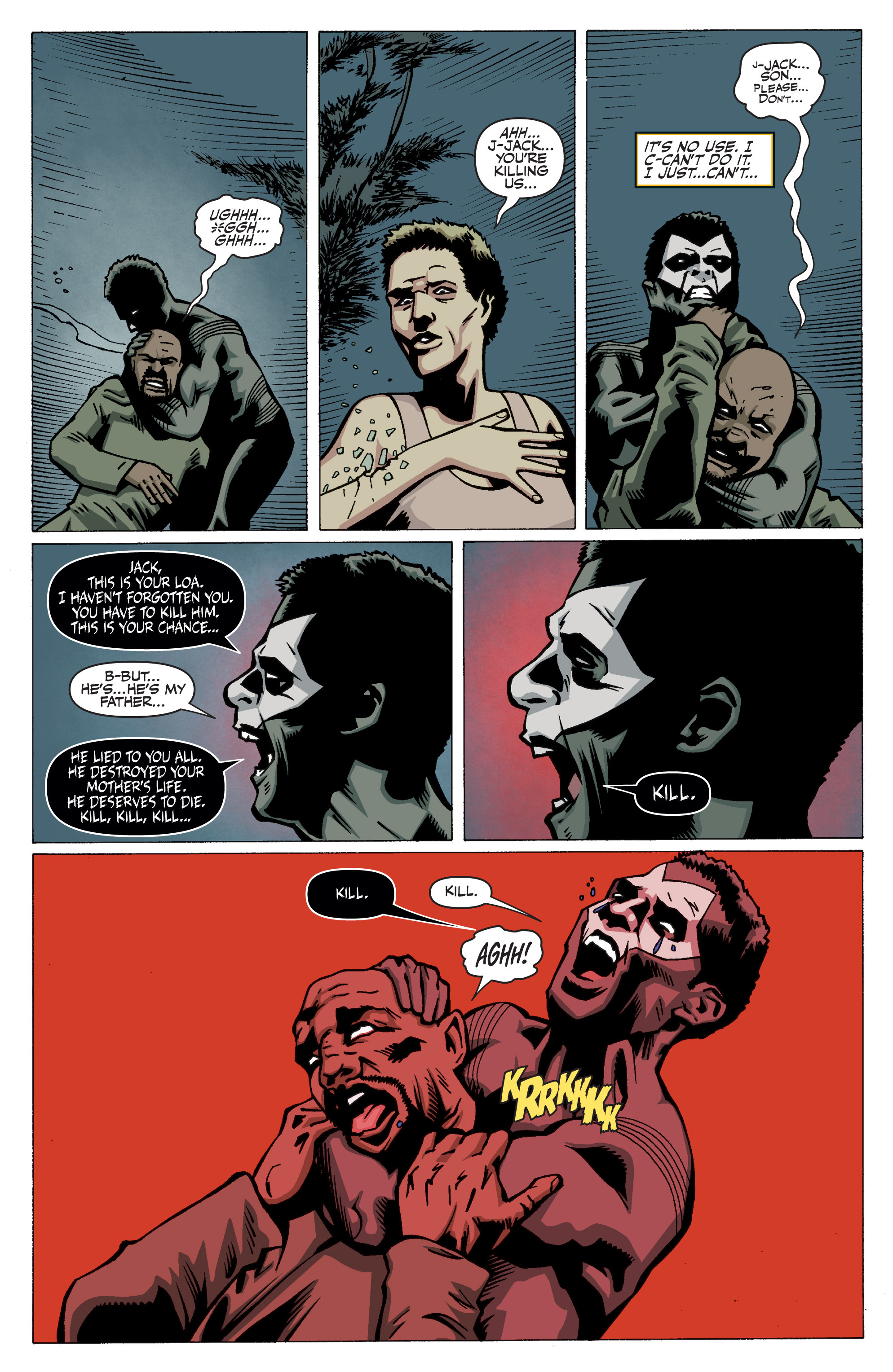 Read online Shadowman: End Times comic -  Issue #3 - 24