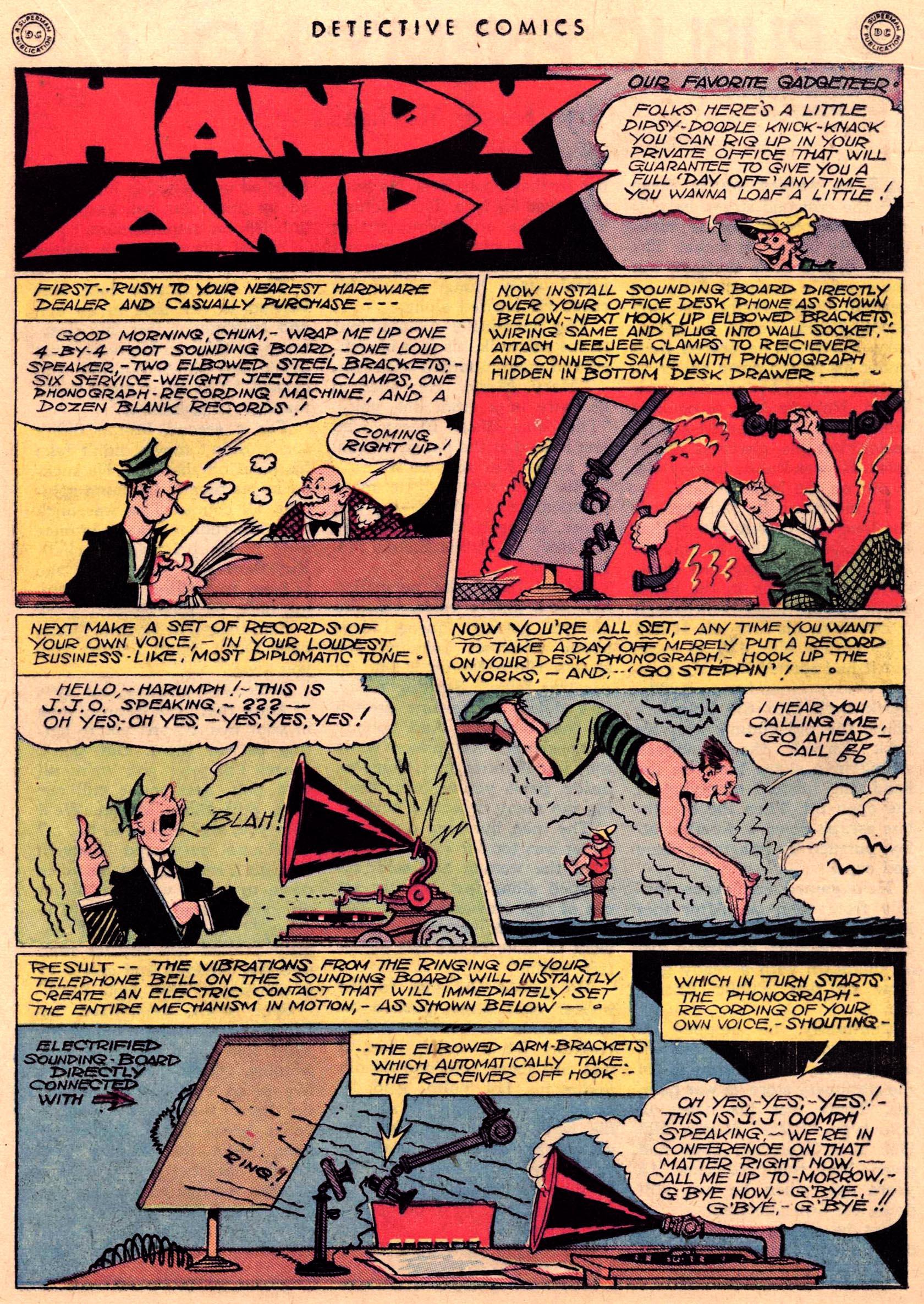 Read online Detective Comics (1937) comic -  Issue #95 - 29