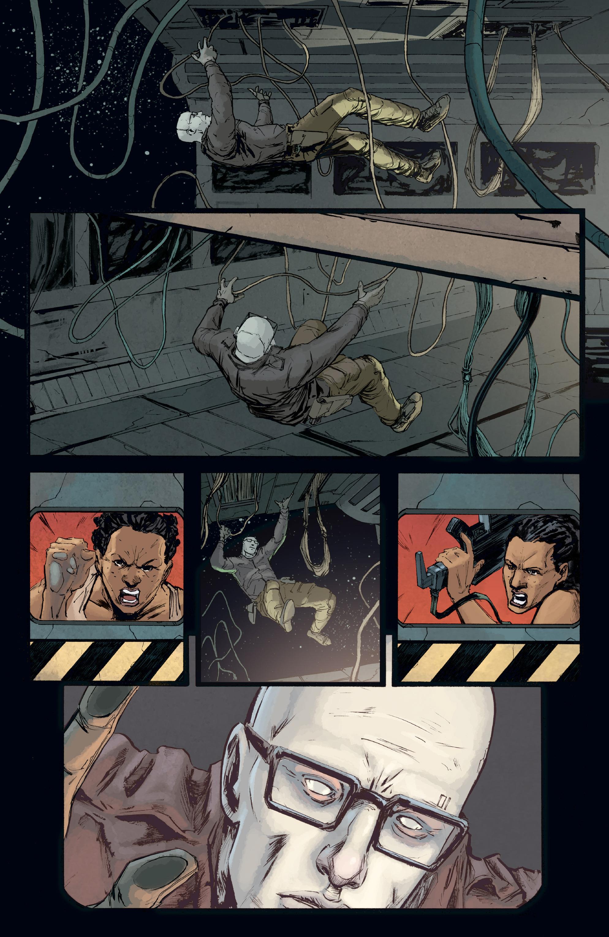 Read online Aliens: Defiance comic -  Issue #8 - 17