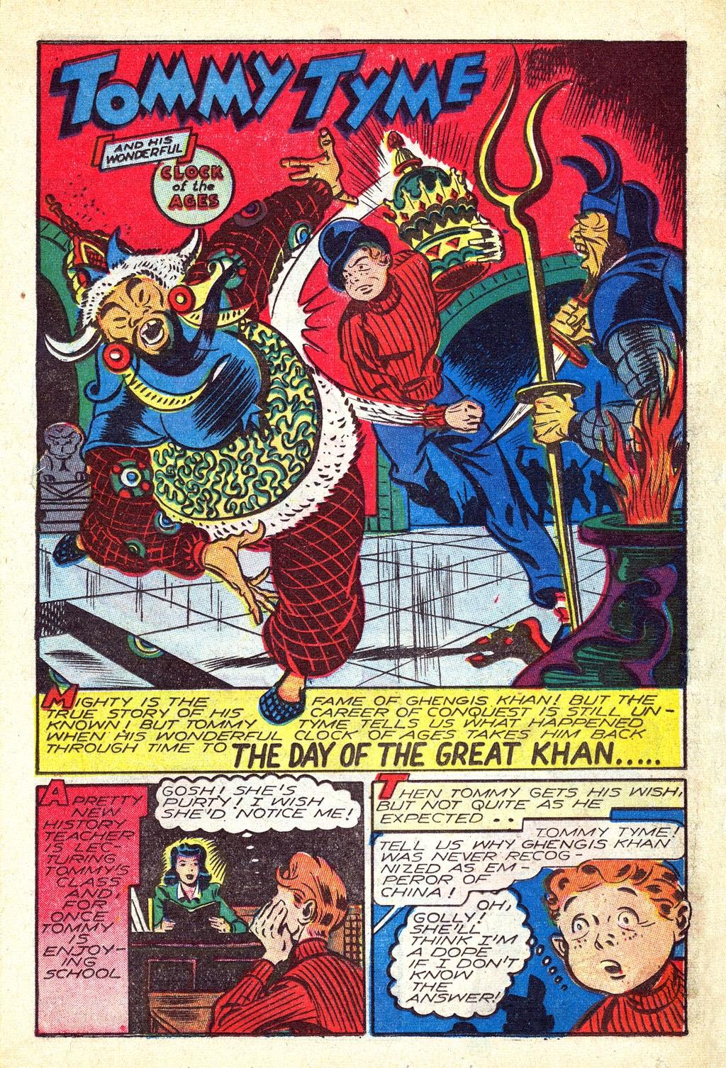 Read online Mystic Comics (1944) comic -  Issue #3 - 19