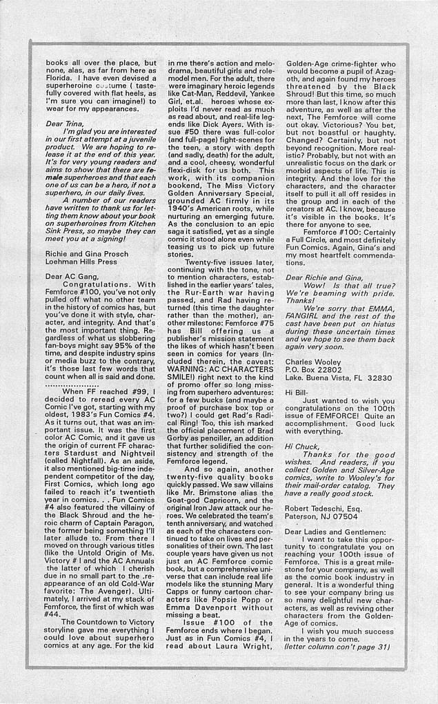 Femforce Issue #101 #101 - English 32