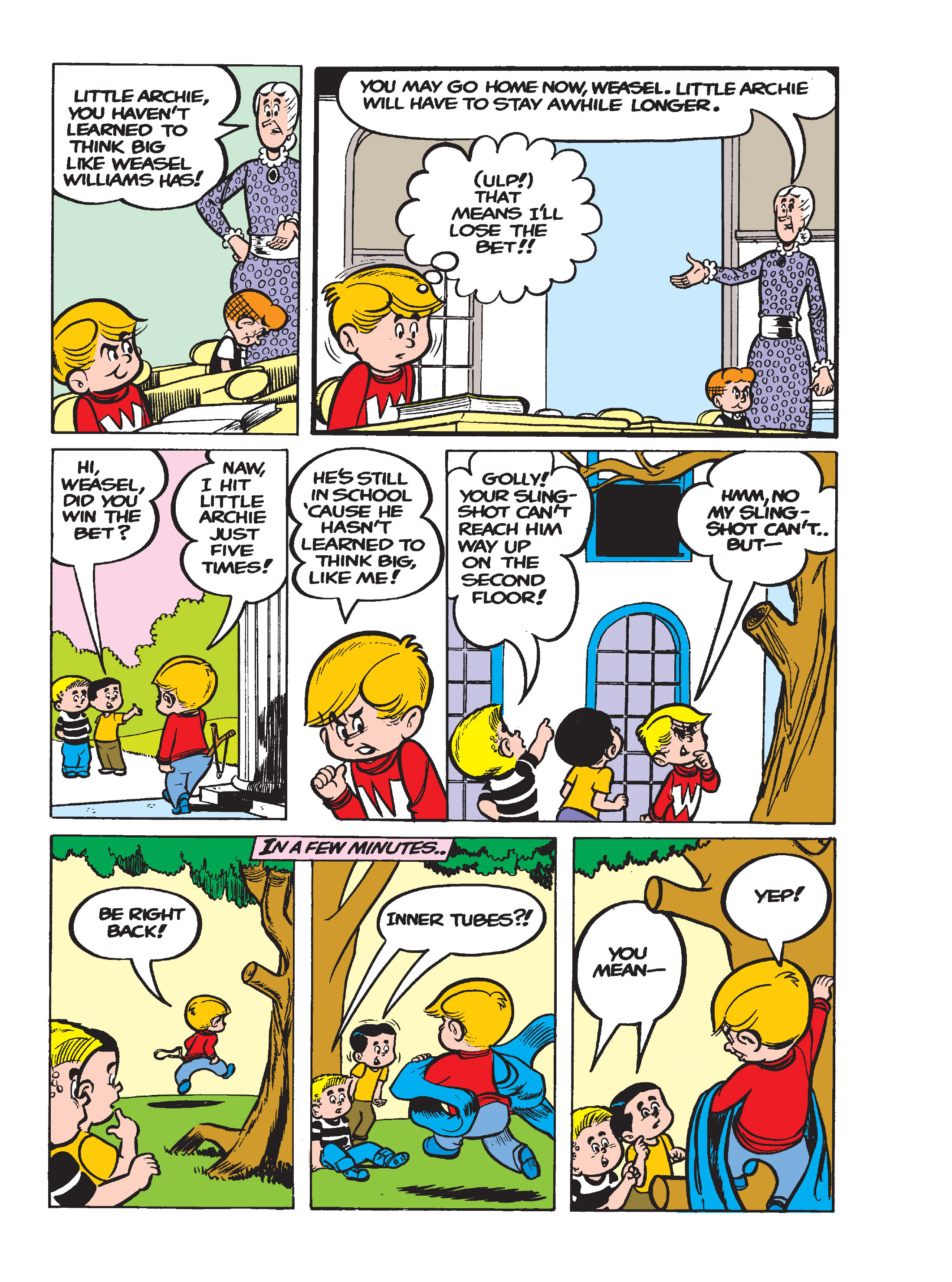 Read online Archie's Funhouse Double Digest comic -  Issue #17 - 133