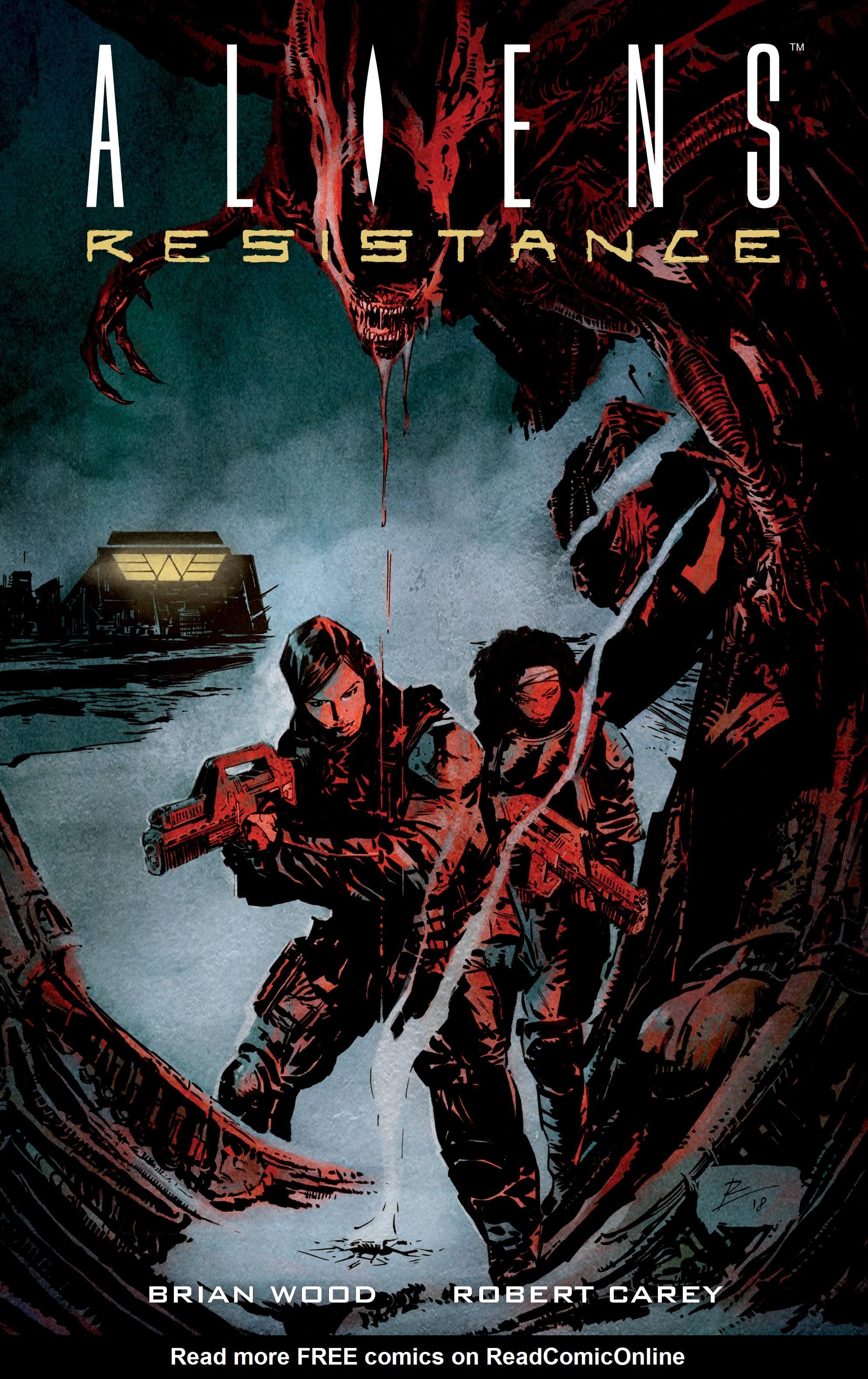 Read online Aliens: Resistance comic -  Issue # _TPB - 1