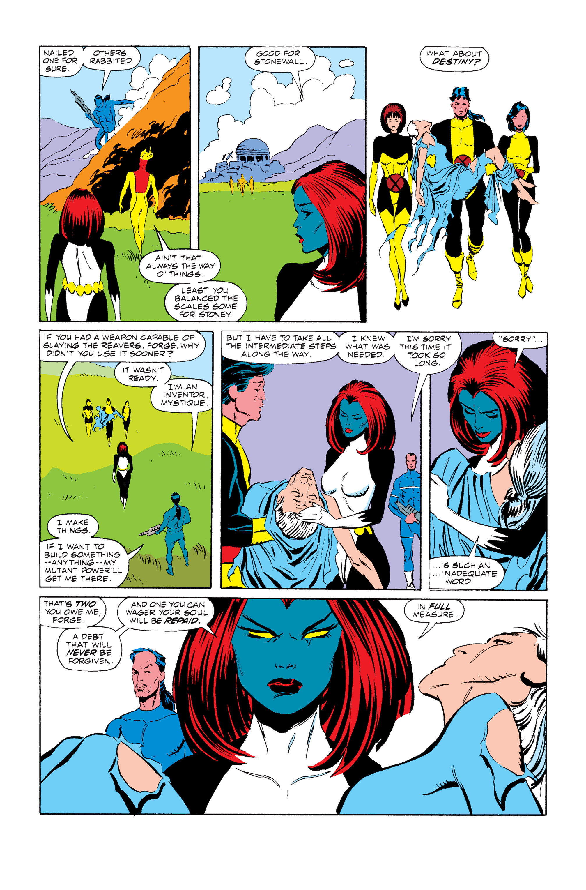 Read online Uncanny X-Men (1963) comic -  Issue #255 - 20