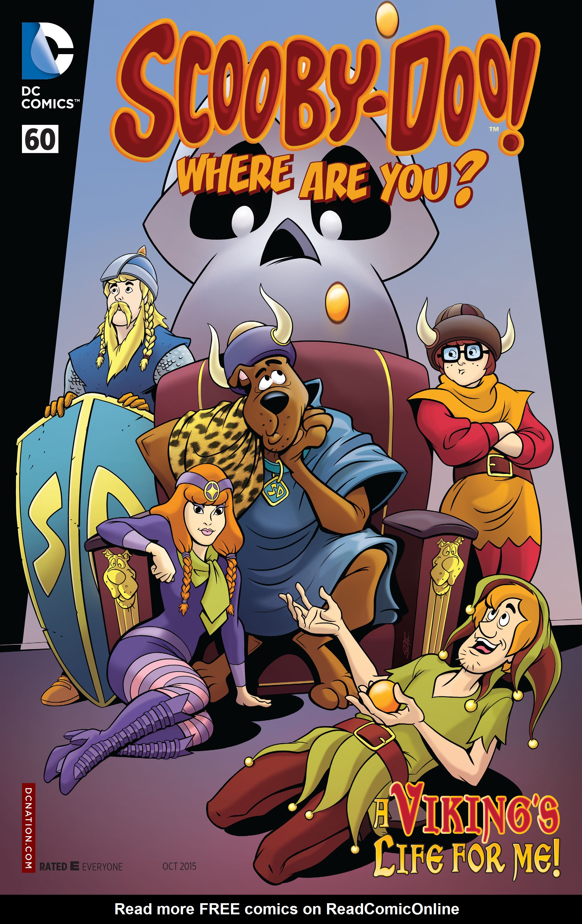 Read online Scooby-Doo: Where Are You? comic -  Issue #60 - 1